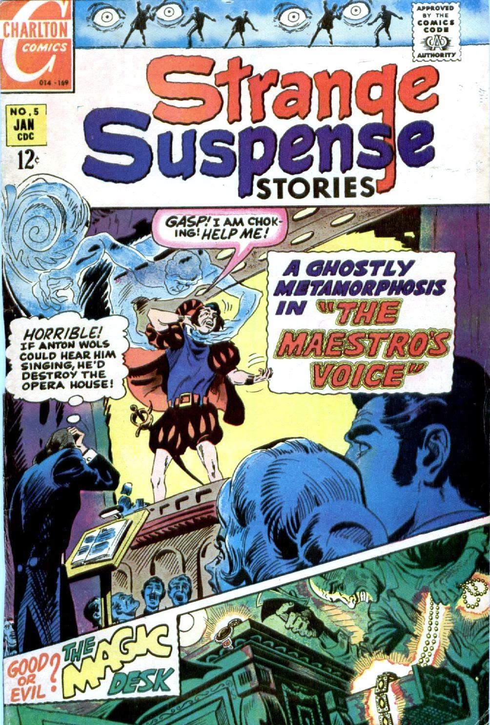 Strange Suspense Stories 5 Page 1
