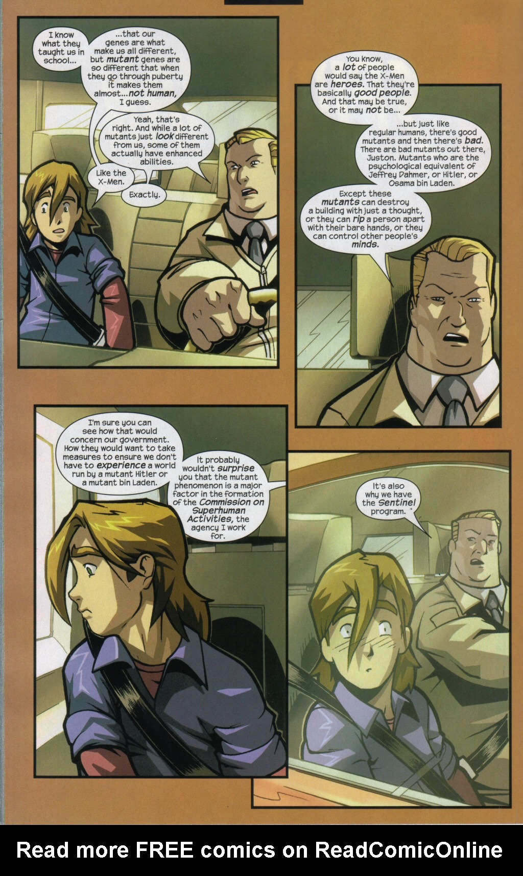 Read online Sentinel comic -  Issue #11 - 11