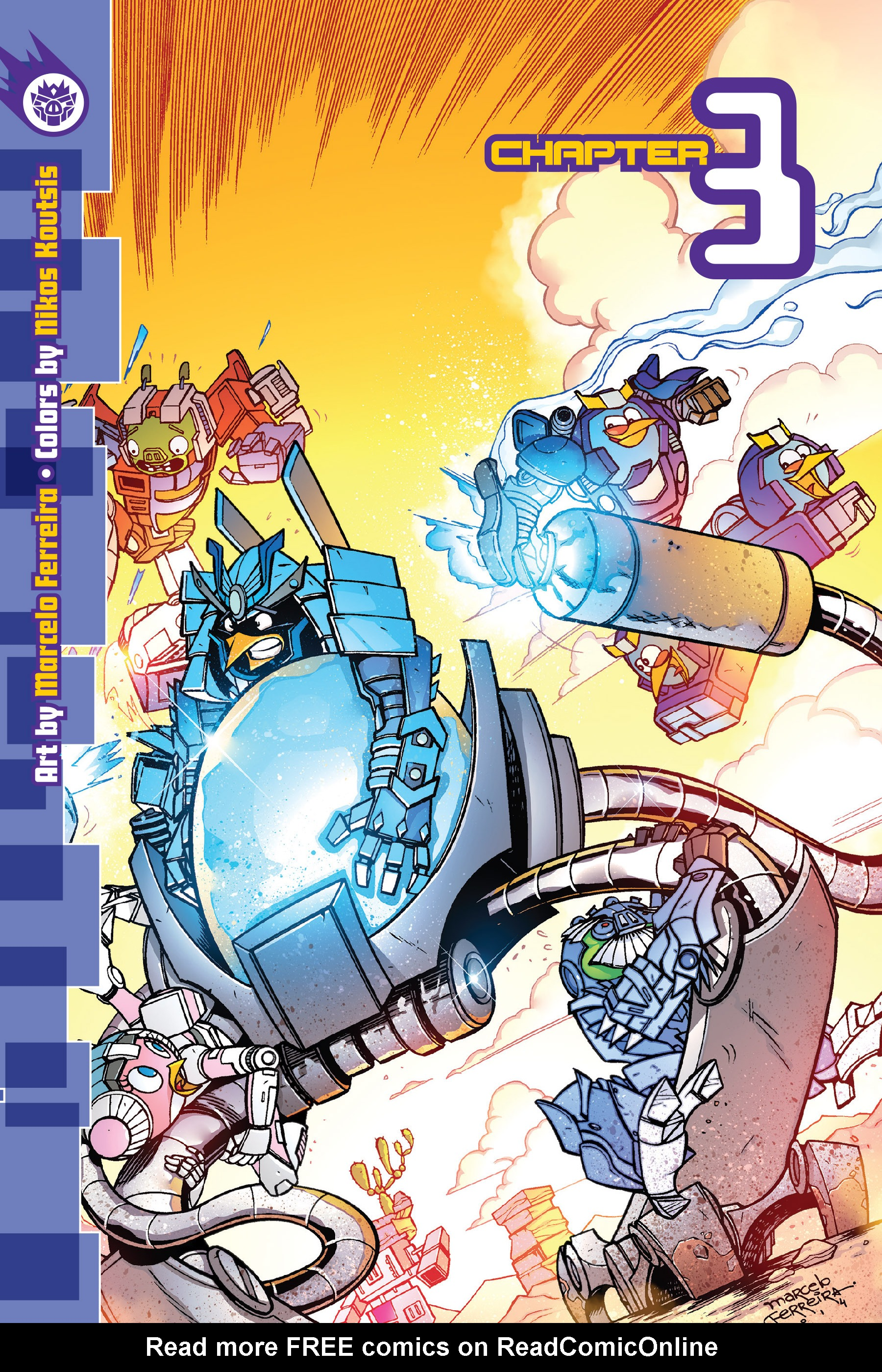 Read online Angry Birds Transformers: Age of Eggstinction comic -  Issue # Full - 49