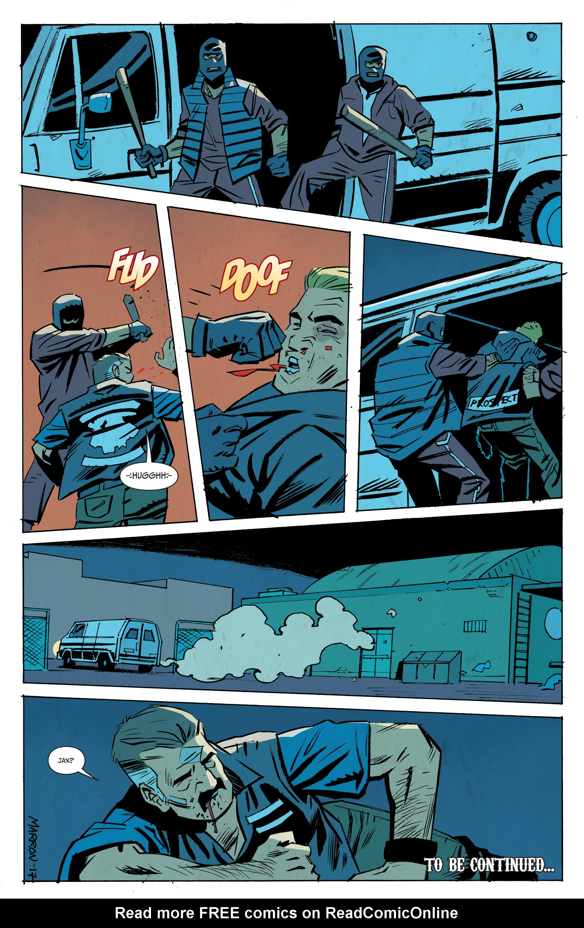 Read online Sons of Anarchy: Redwood Original comic -  Issue #8 - 24