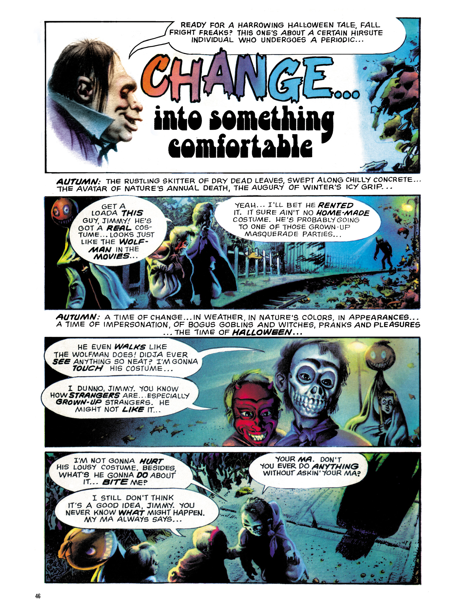 Read online Eerie Archives comic -  Issue # TPB 18 - 47