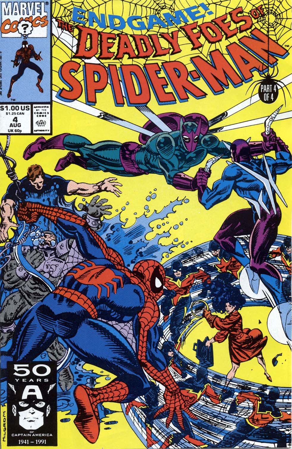 Deadly Foes of Spider-Man 4 Page 1