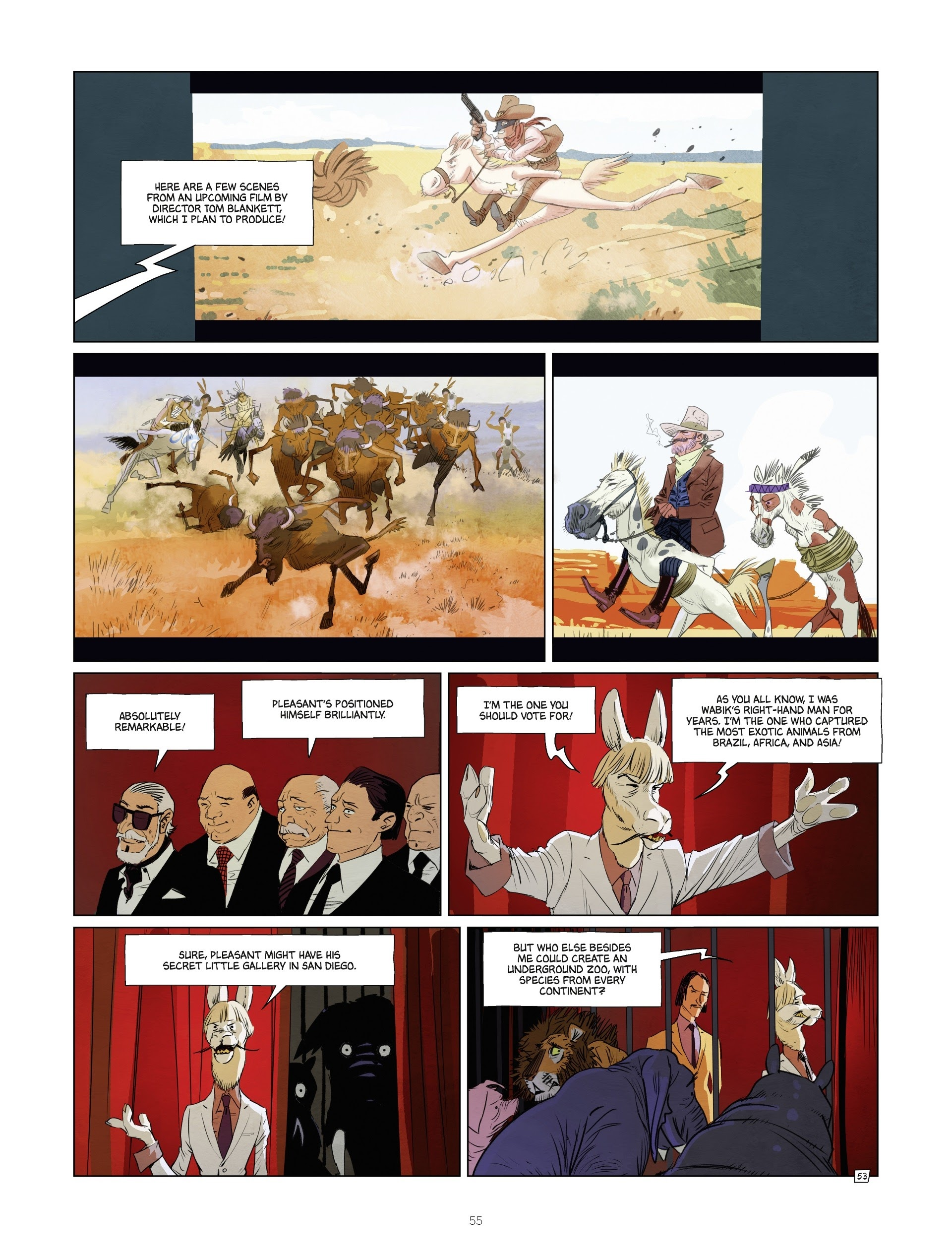 Read online Jack Wolfgang comic -  Issue #3 - 57
