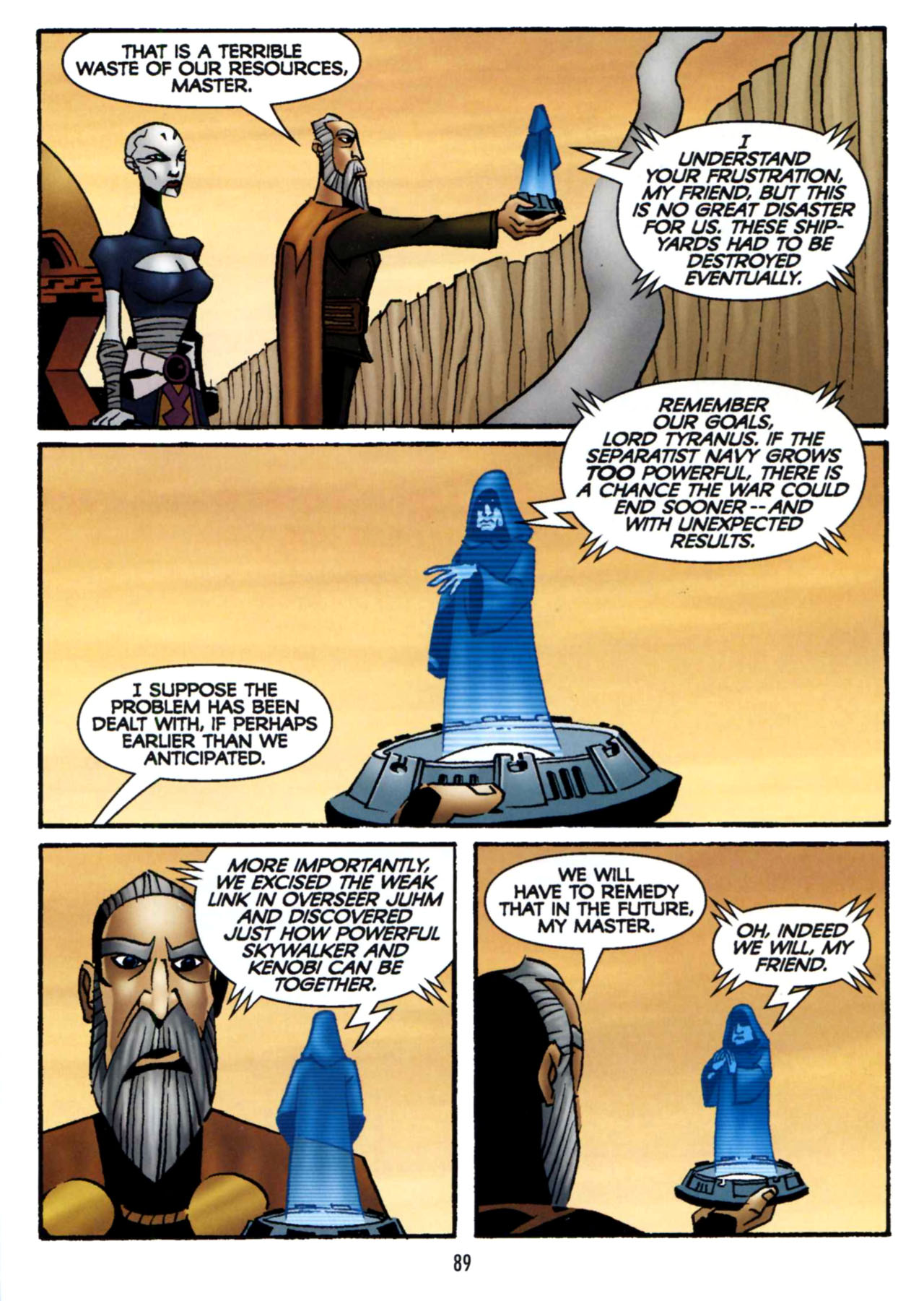 Read online Star Wars: The Clone Wars - Shipyards of Doom comic -  Issue # Full - 87