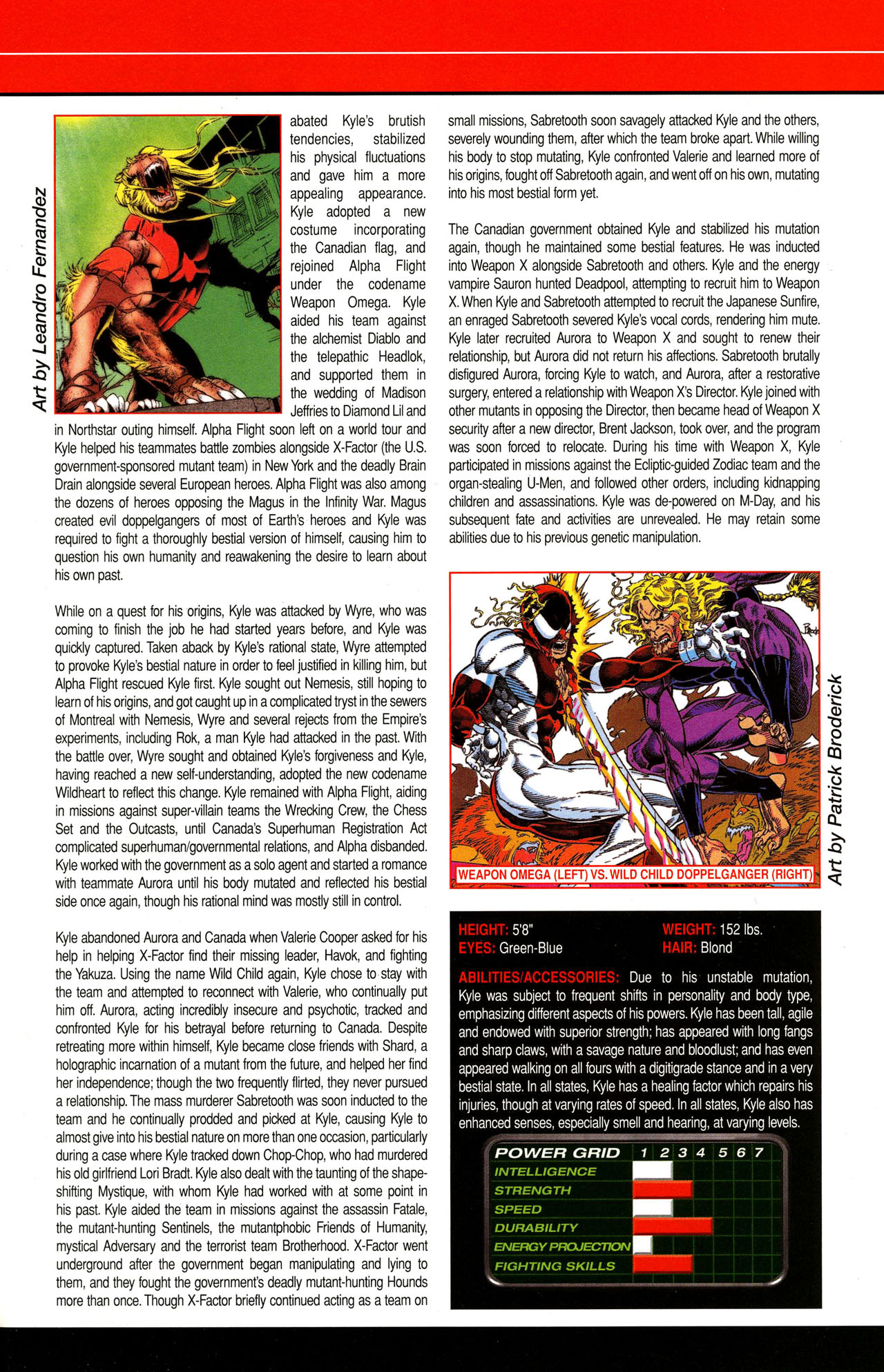 Read online All-New Official Handbook of the Marvel Universe A to Z comic -  Issue #12 - 35