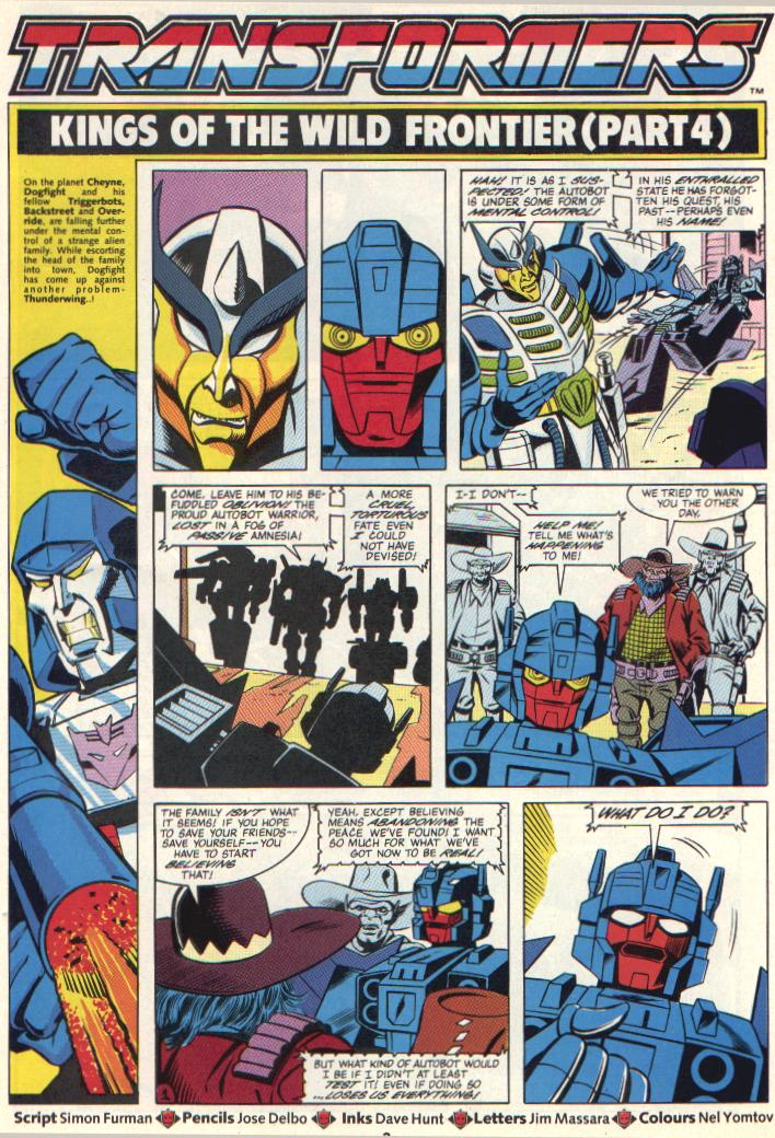 The Transformers (UK) 285 Page 2