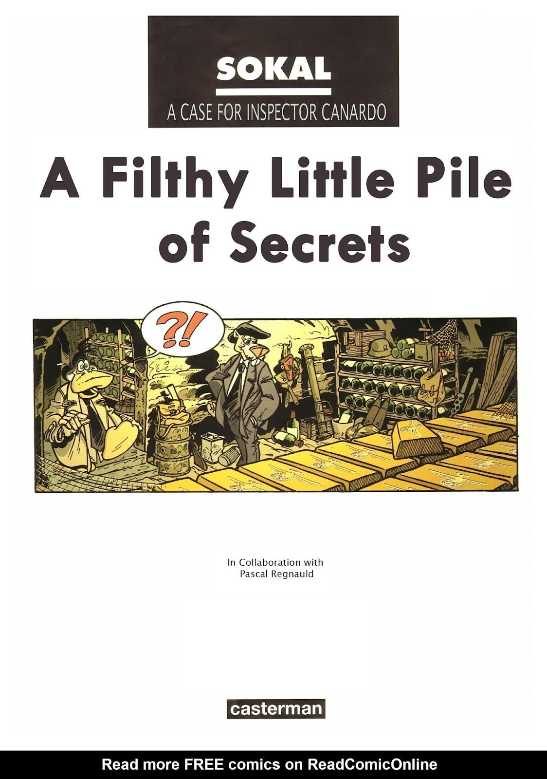Une enquête de l'inspecteur Canardo issue 11 - Page 2