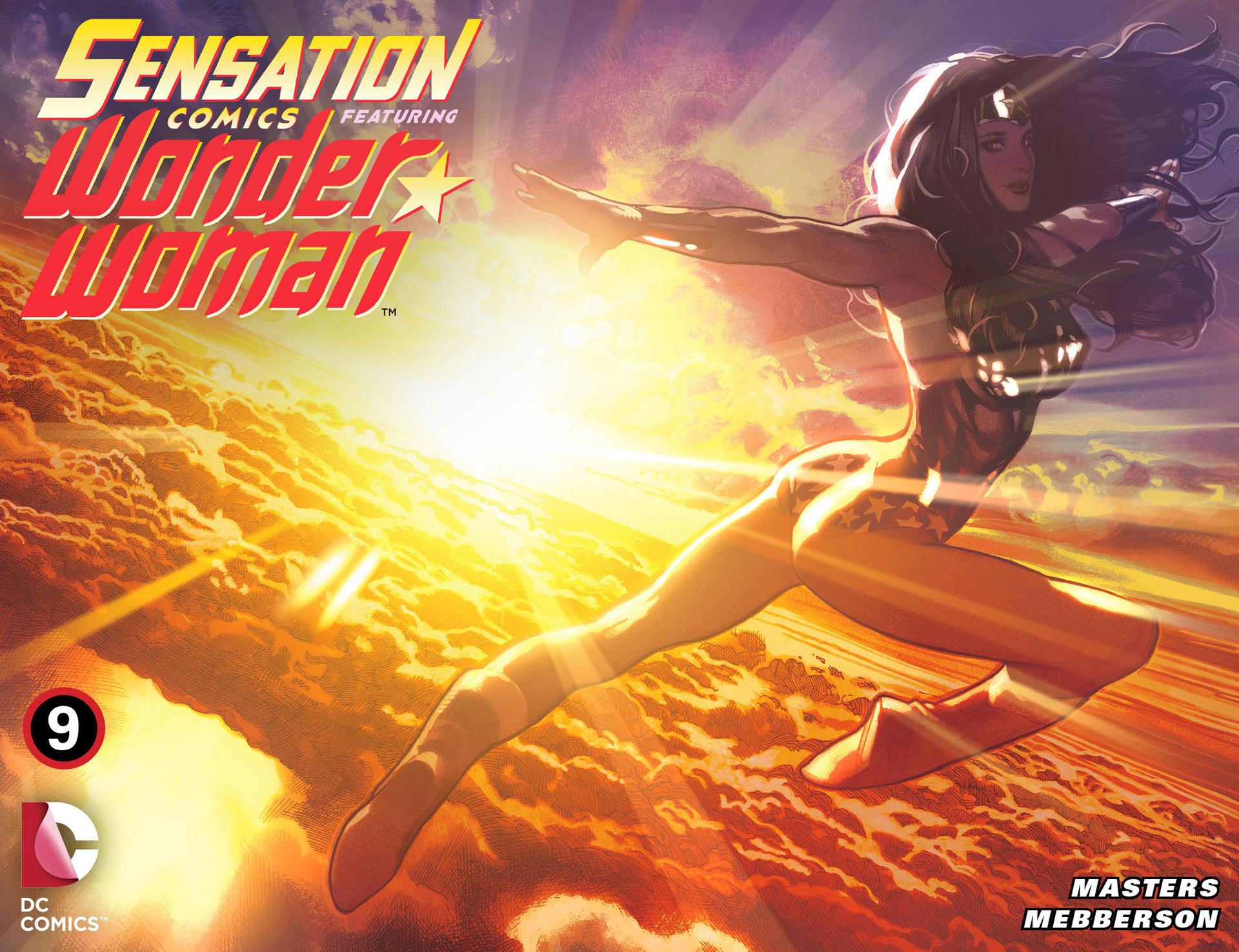 Read online Sensation Comics Featuring Wonder Woman comic -  Issue #9 - 1