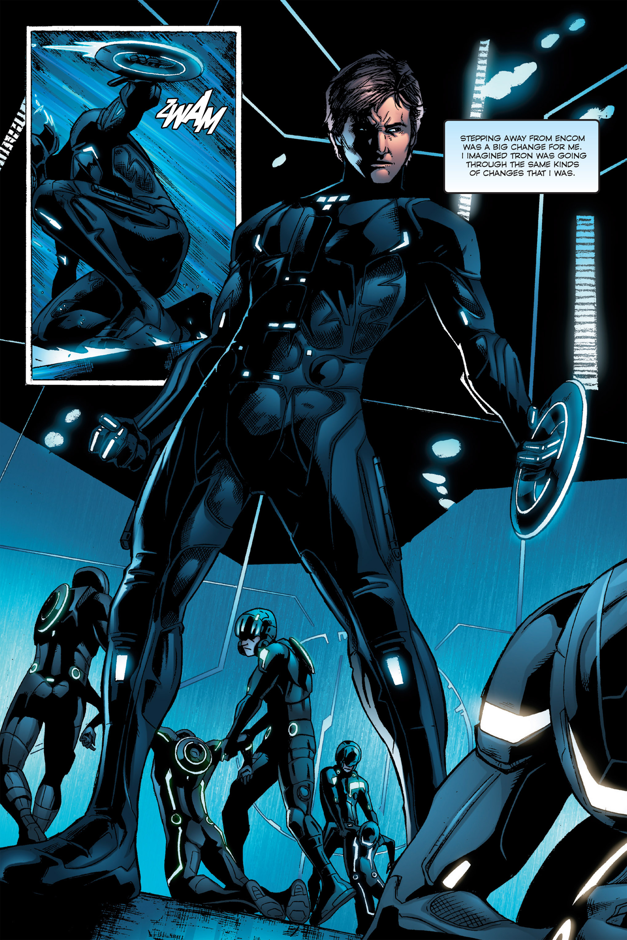 Read online TRON: Betrayal comic -  Issue # TPB - 82