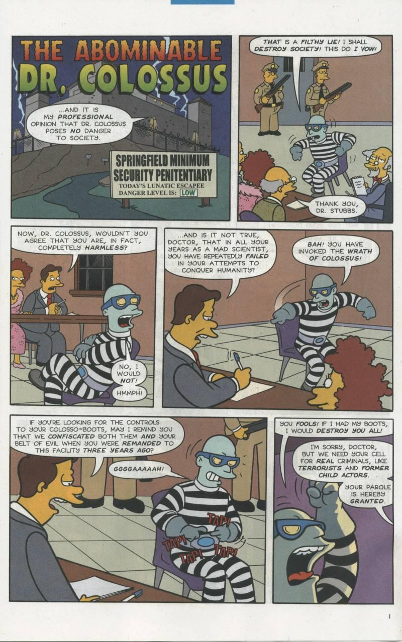 Read online Simpsons Comics comic -  Issue #67 - 28