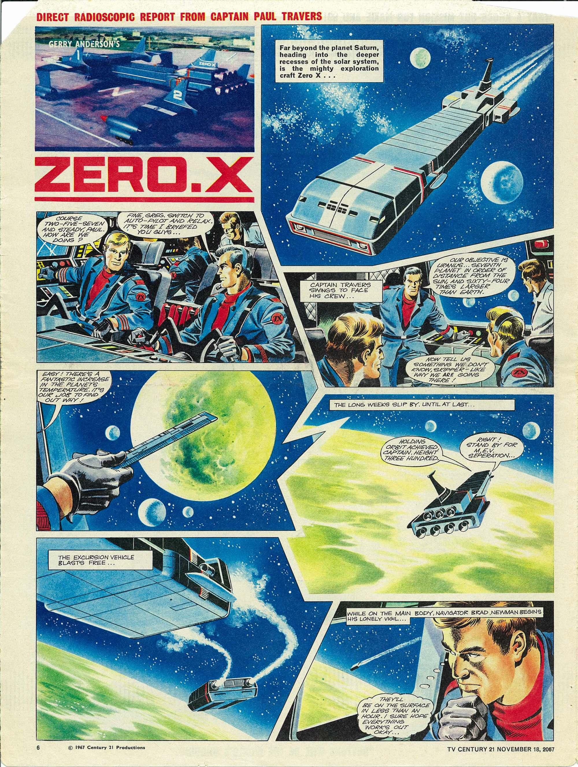 Read online TV Century 21 (TV 21) comic -  Issue #148 - 6