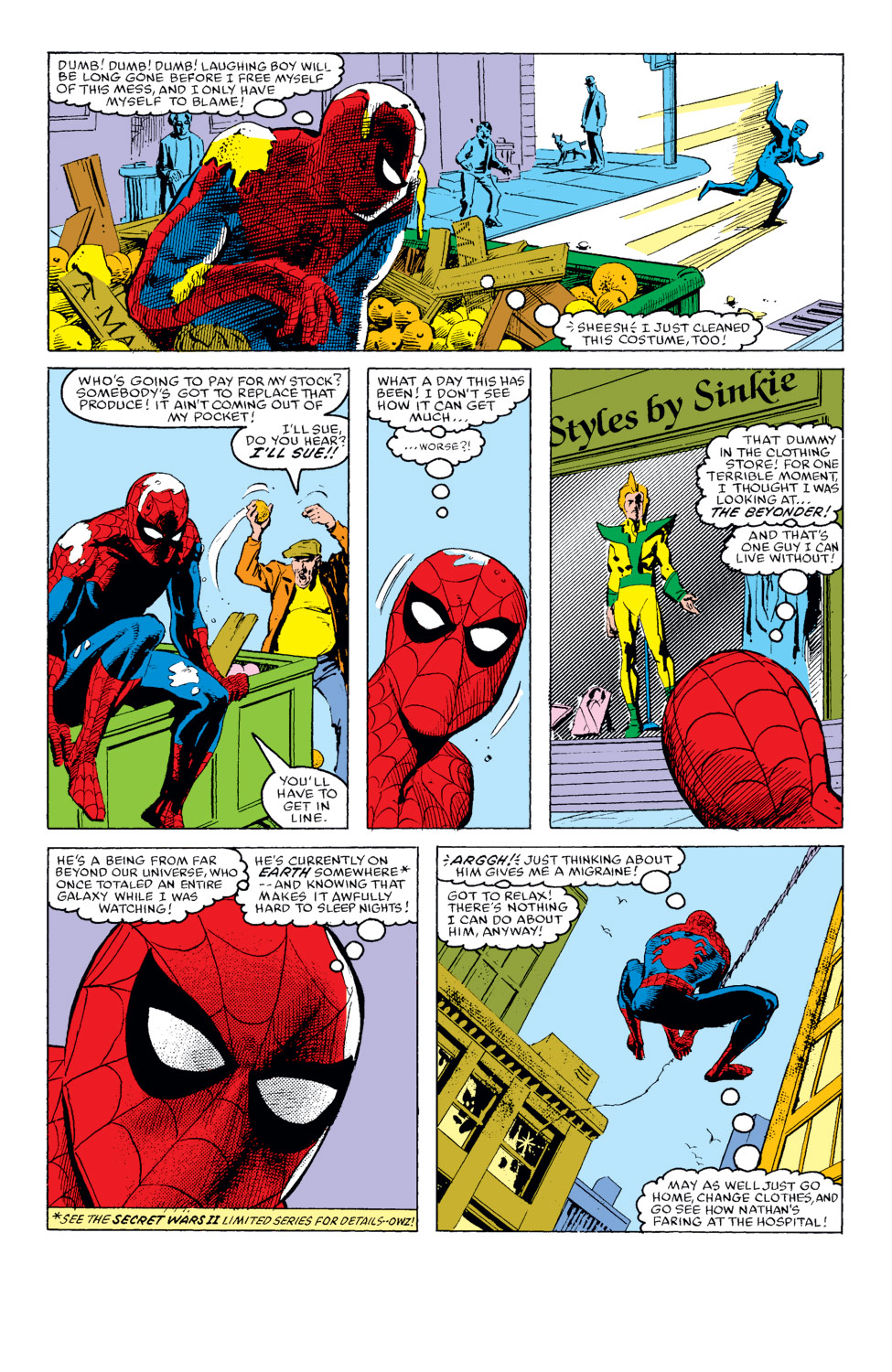 The Amazing Spider-Man (1963) 272 Page 8