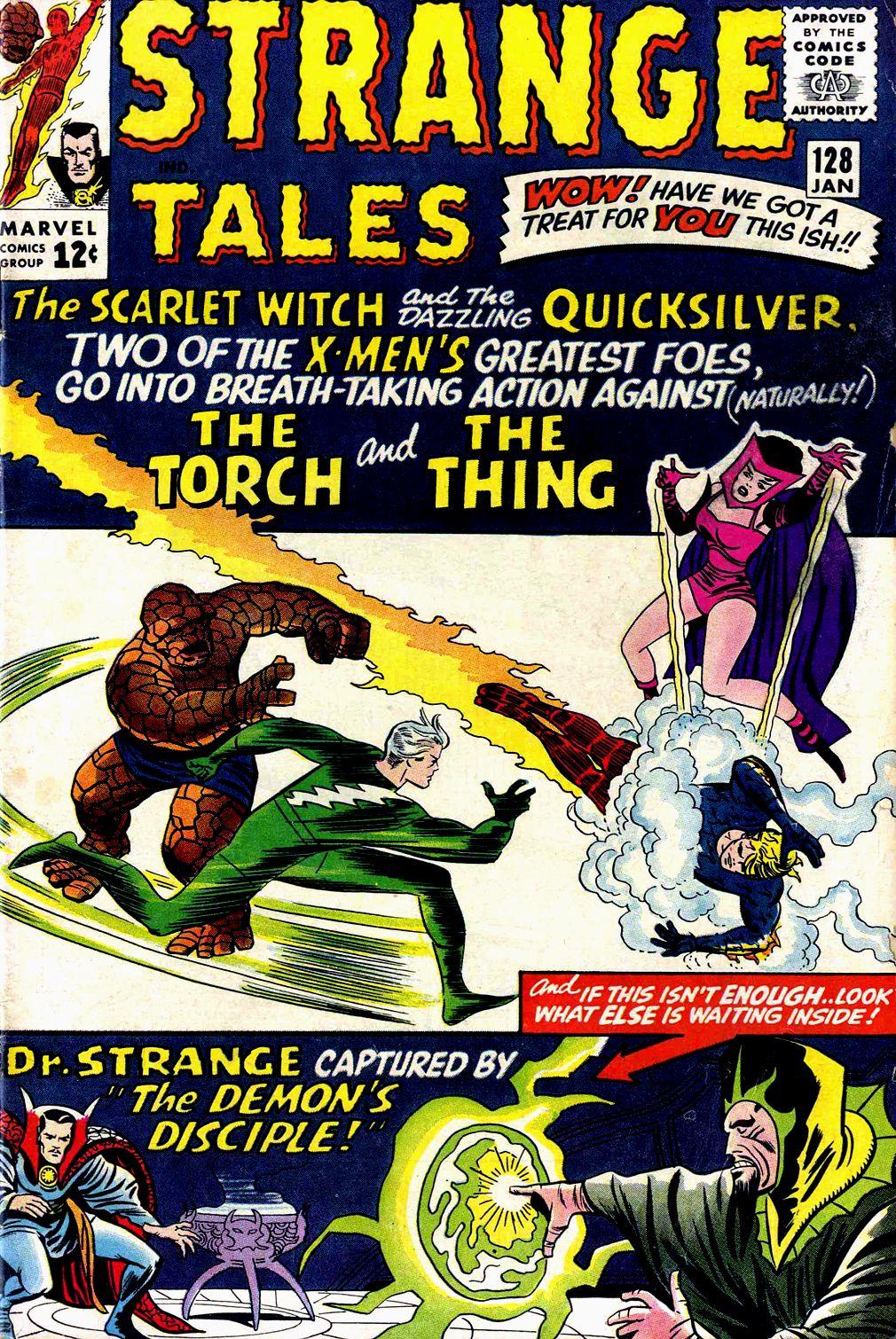 Strange Tales (1951) 128 Page 1