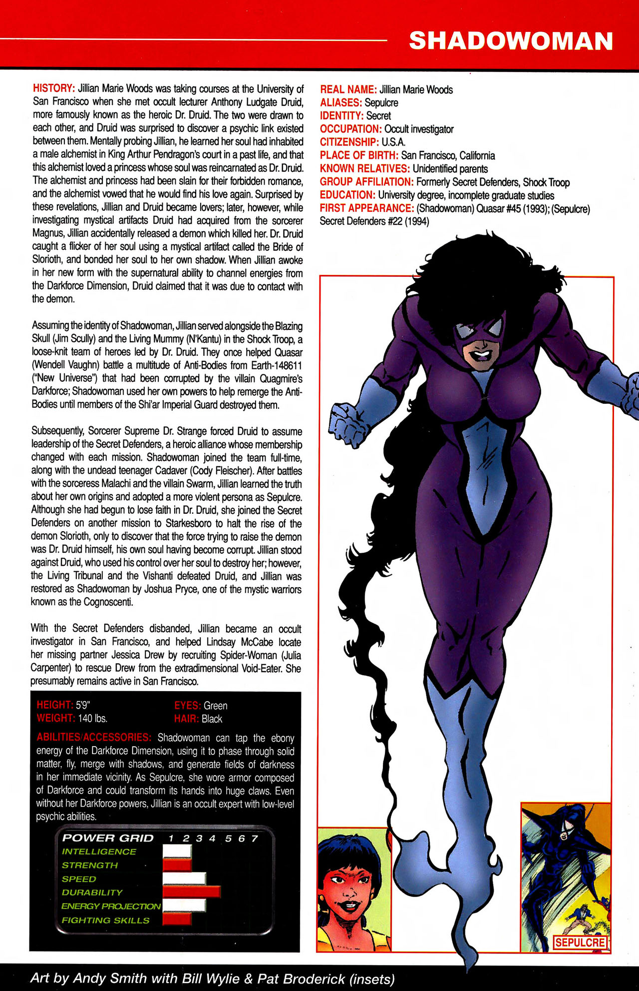 Read online All-New Official Handbook of the Marvel Universe A to Z comic -  Issue #10 - 3