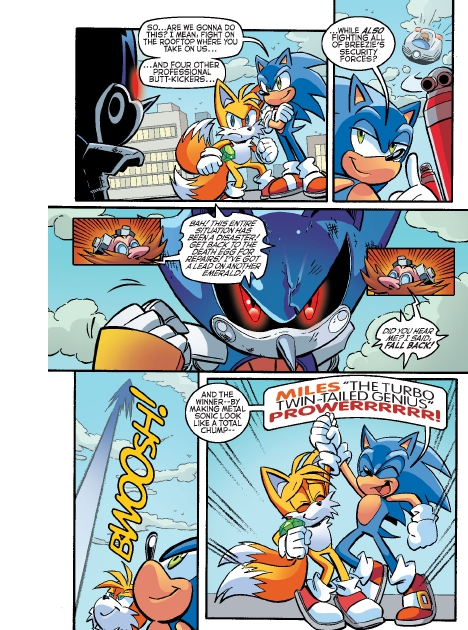 Read online Sonic Comics Spectacular: Speed of Sound comic -  Issue # Full - 73