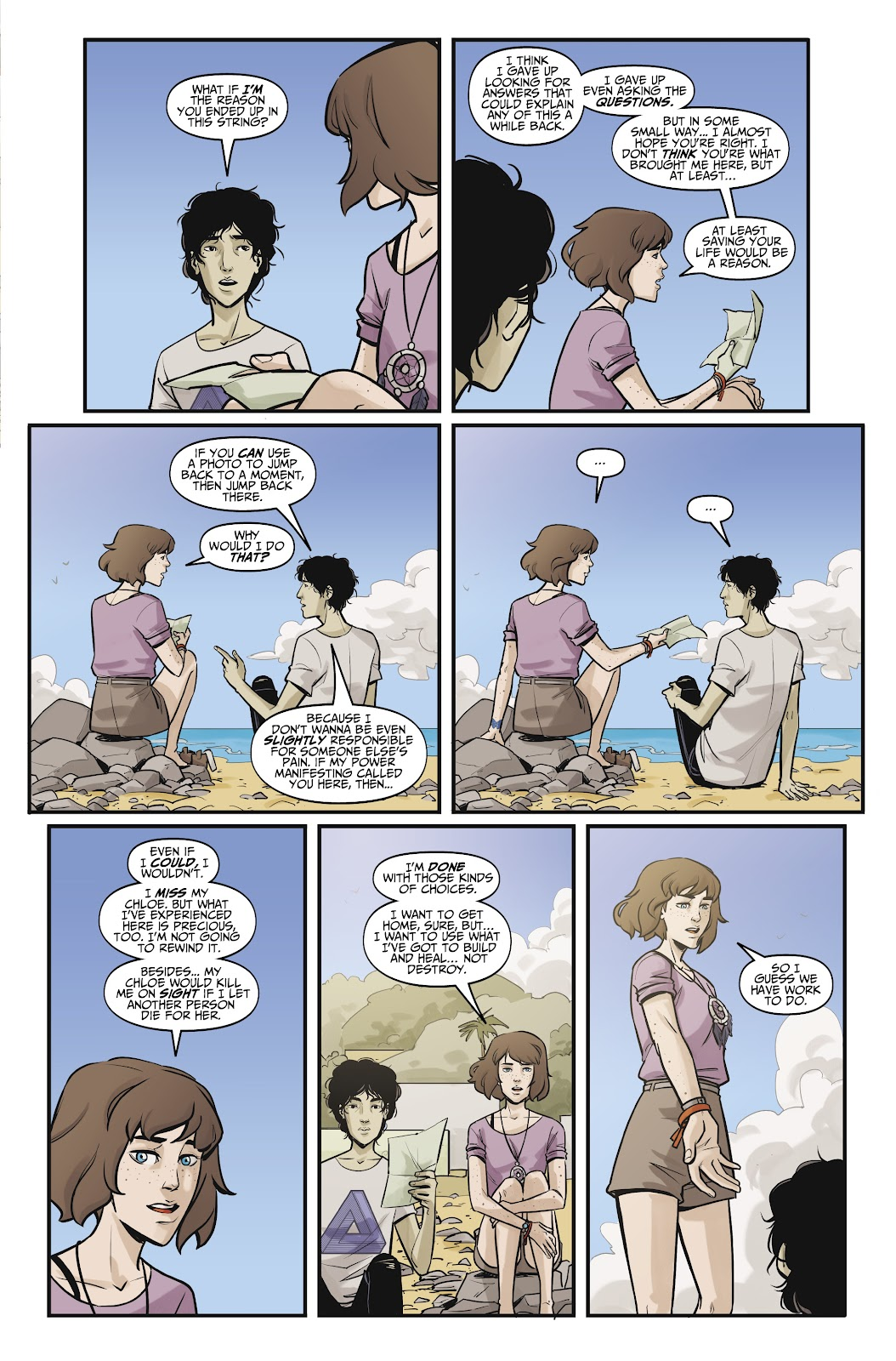 Read online Life is Strange comic -  Issue #10 - 15