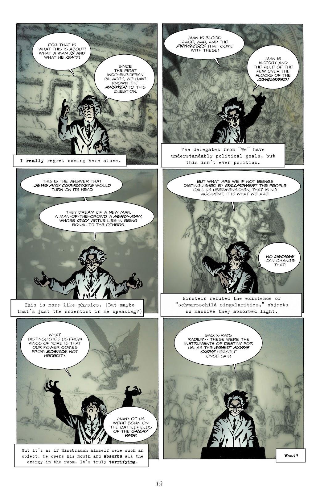 Comic The Chimera Brigade issue 1