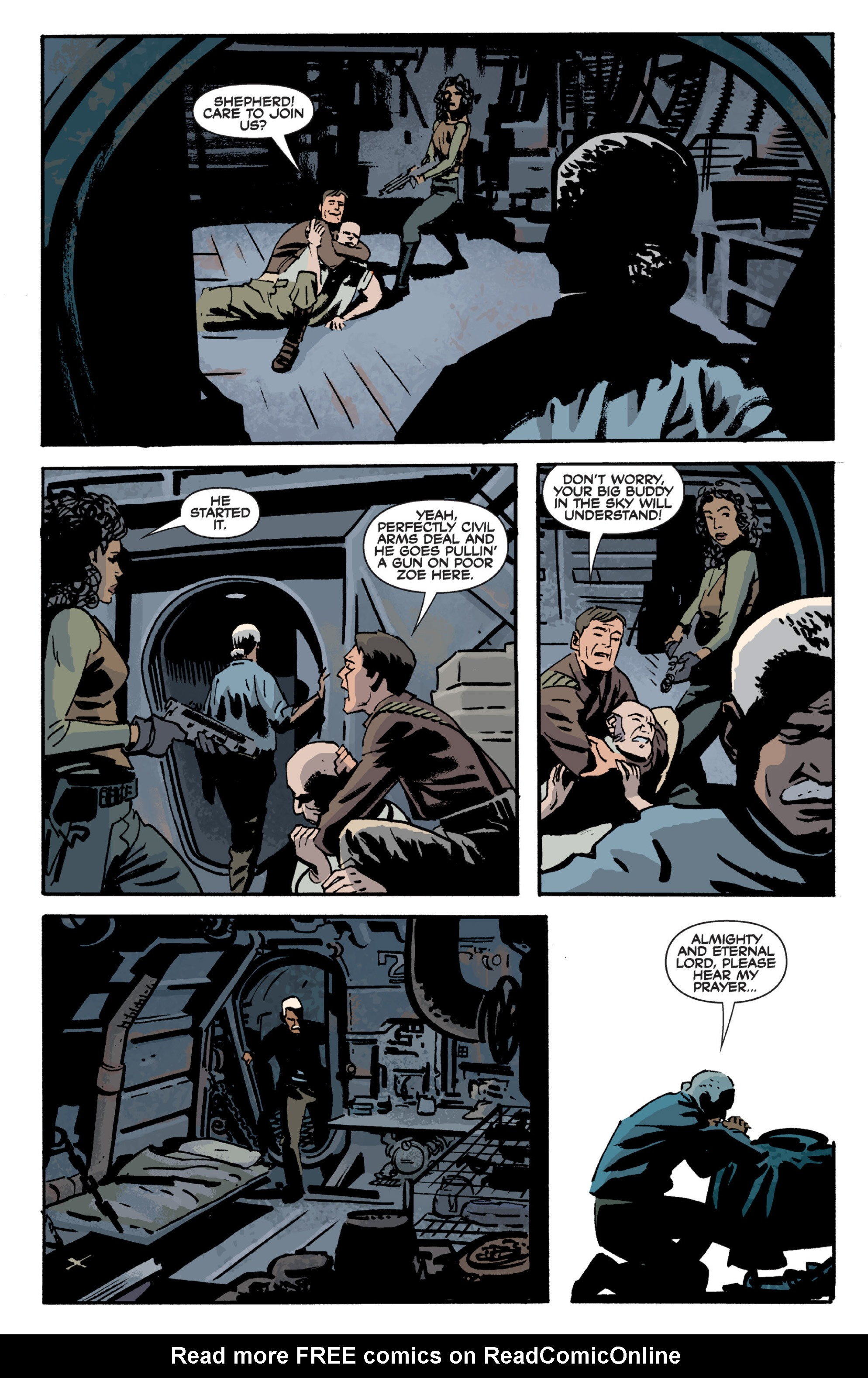 Read online Serenity Volume Three: The Shepherd's Tale comic -  Issue # TPB - 17