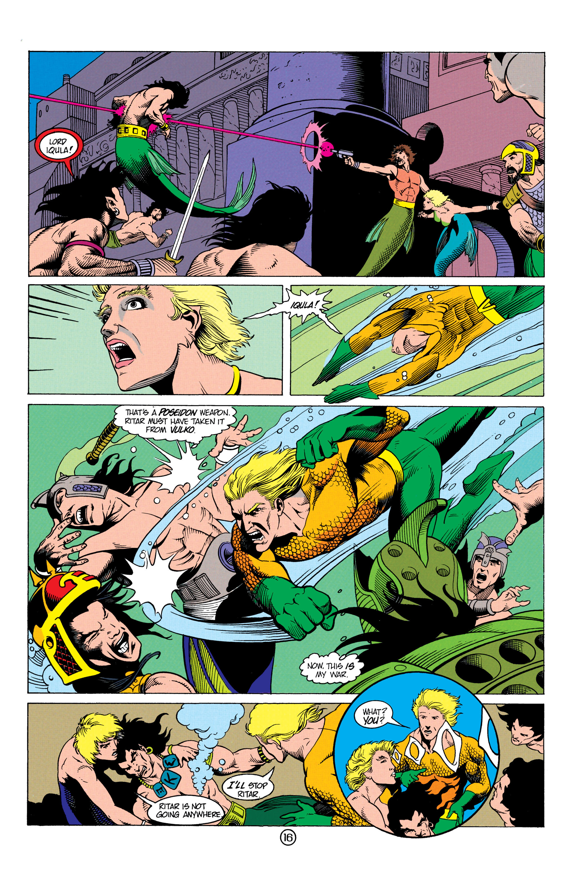 Read online Aquaman (1991) comic -  Issue #12 - 16