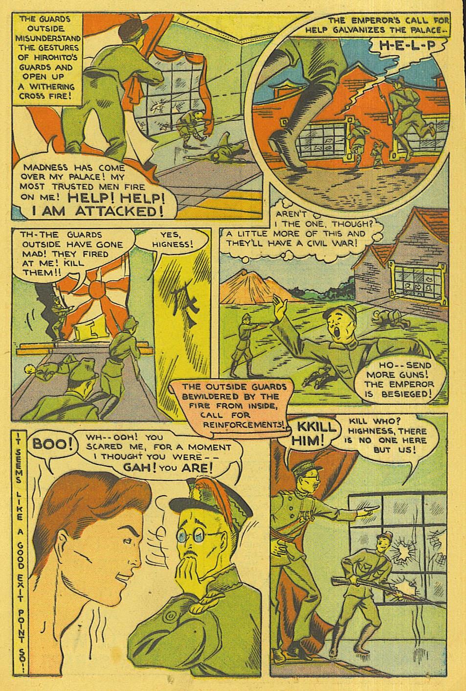Read online Super-Magician Comics comic -  Issue #42 - 32