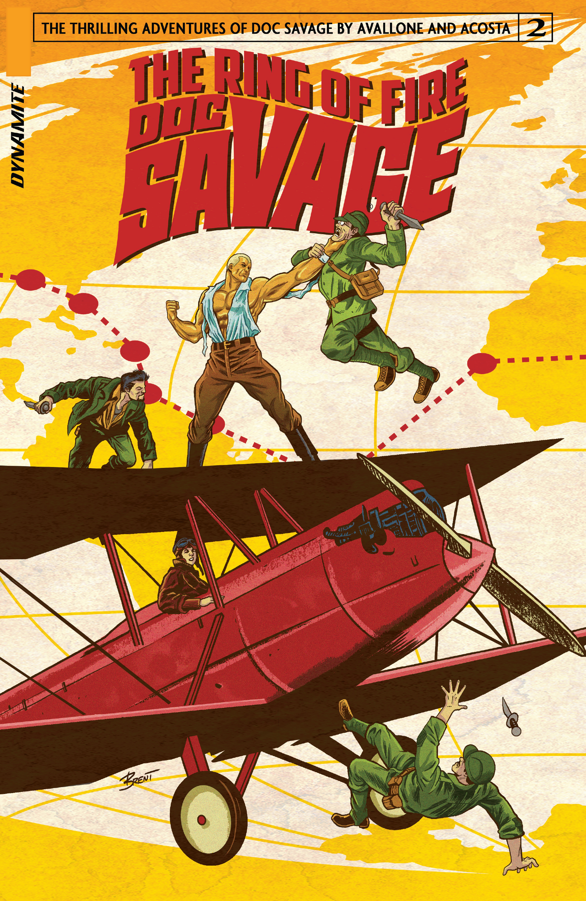 Doc Savage: Ring Of Fire 2 Page 1