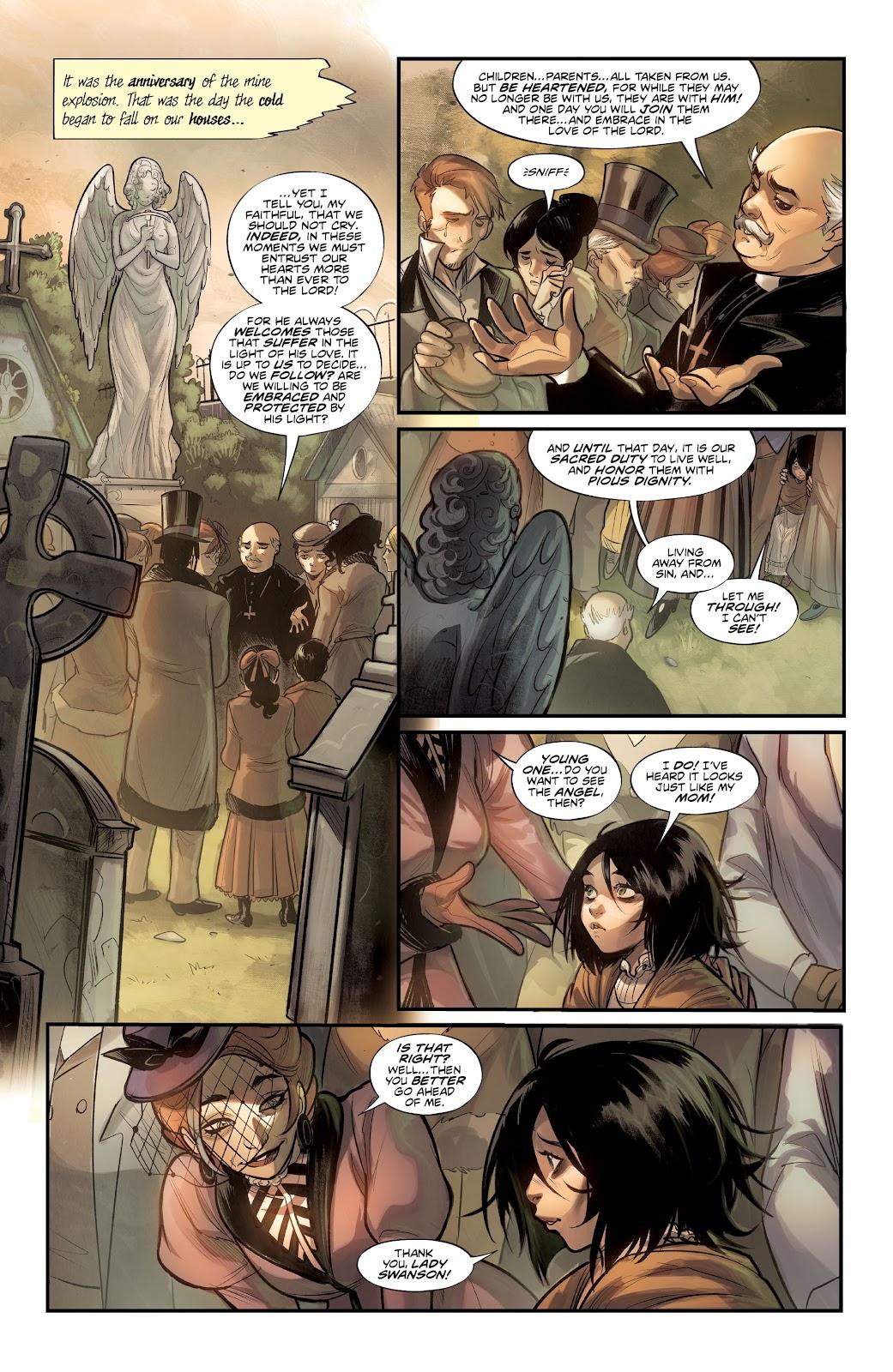 Read online Mirka Andolfo's Mercy comic -  Issue #1 - 7