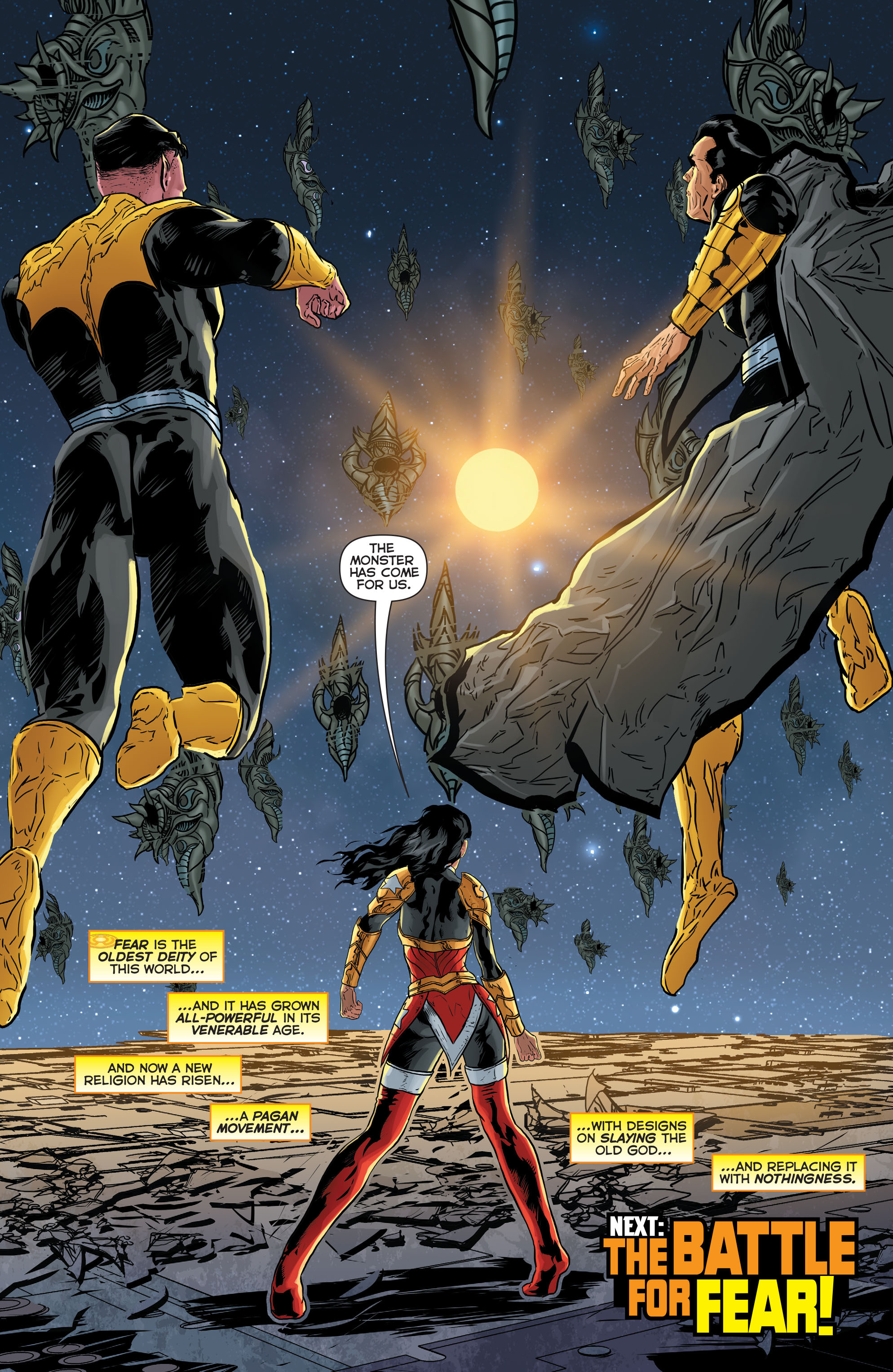 Read online Sinestro comic -  Issue #17 - 22