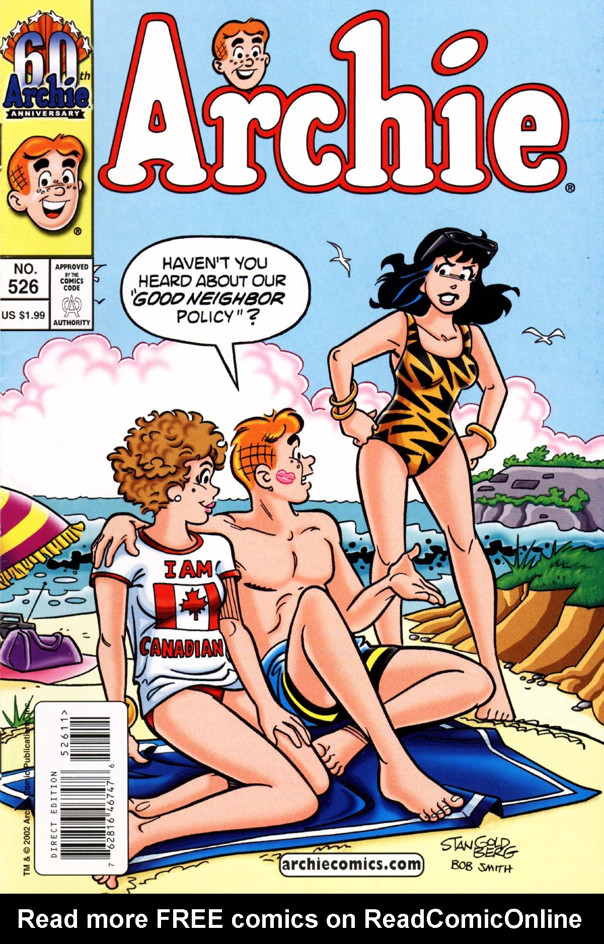 Read online Archie (1960) comic -  Issue #526 - 1