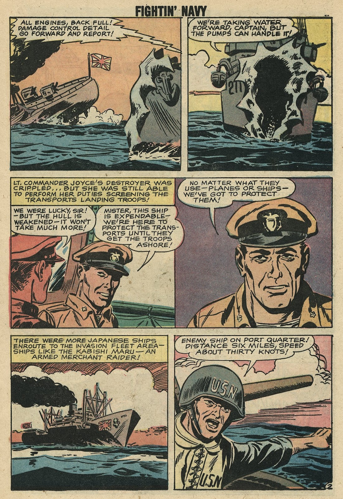 Read online Fightin' Navy comic -  Issue #86 - 12