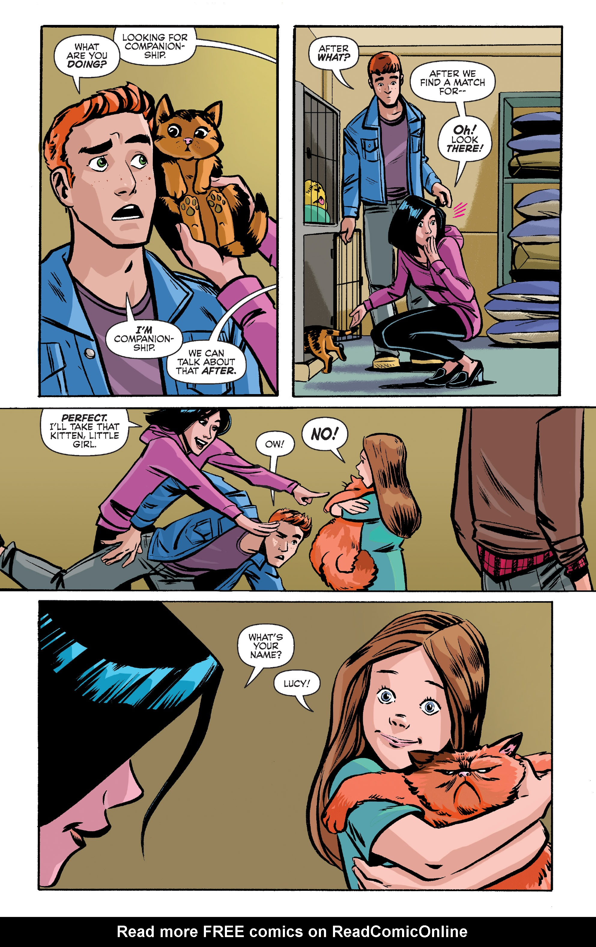 Read online Archie (2015) comic -  Issue #8 - 10