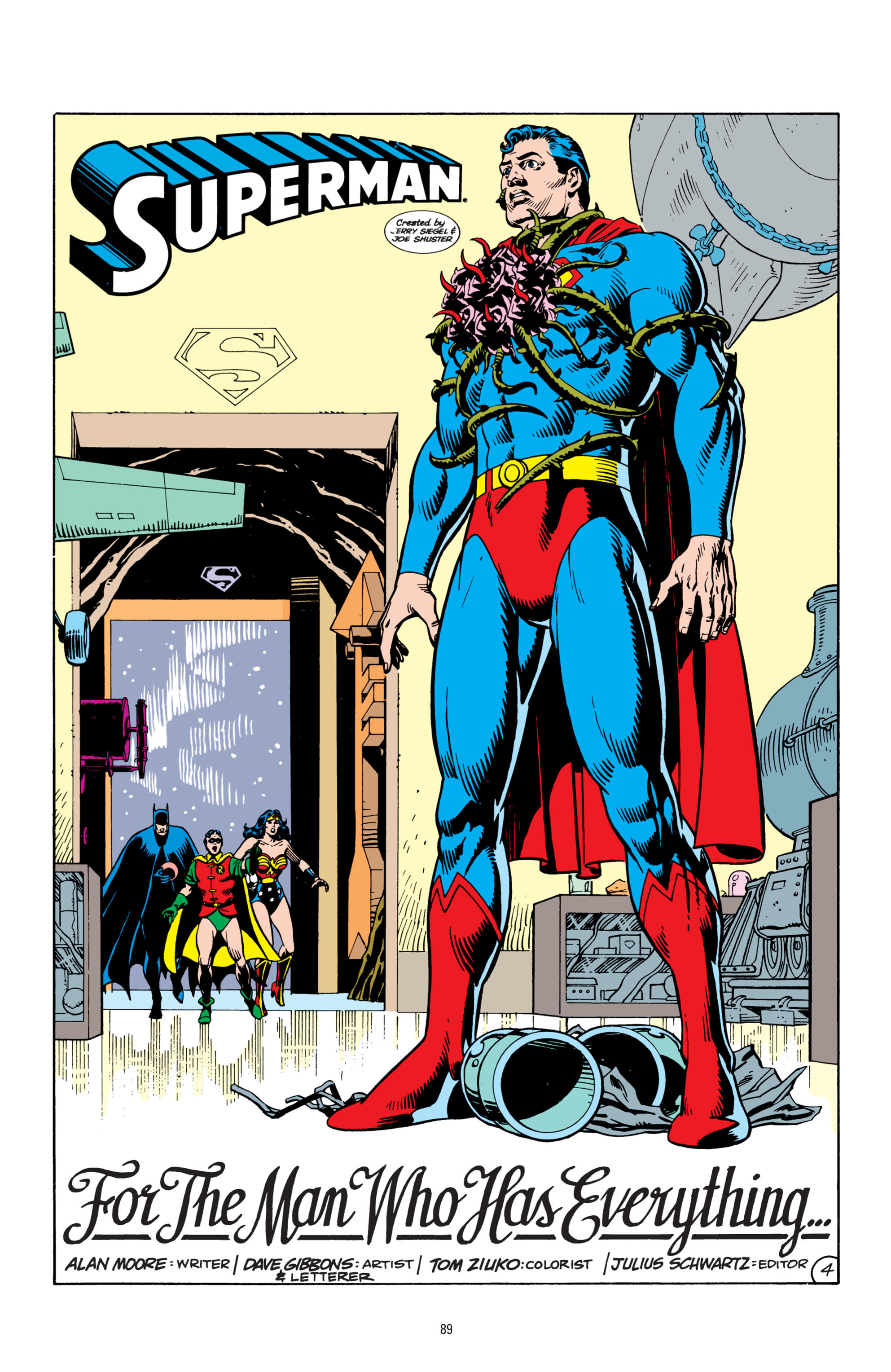 Read online Superman: Whatever Happened to the Man of Tomorrow? comic -  Issue # TPB - 88
