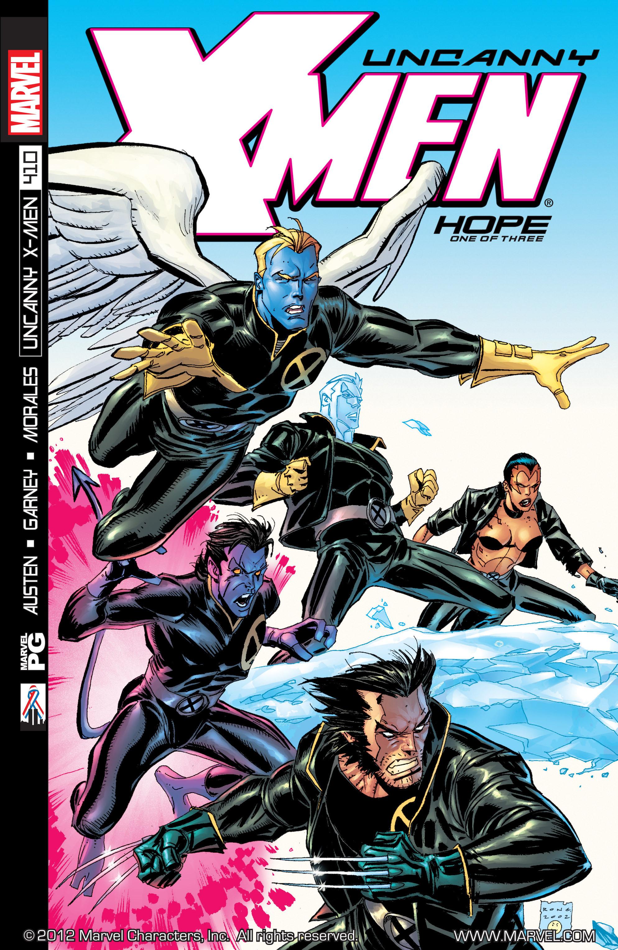 Uncanny X-Men (1963) 410 Page 1