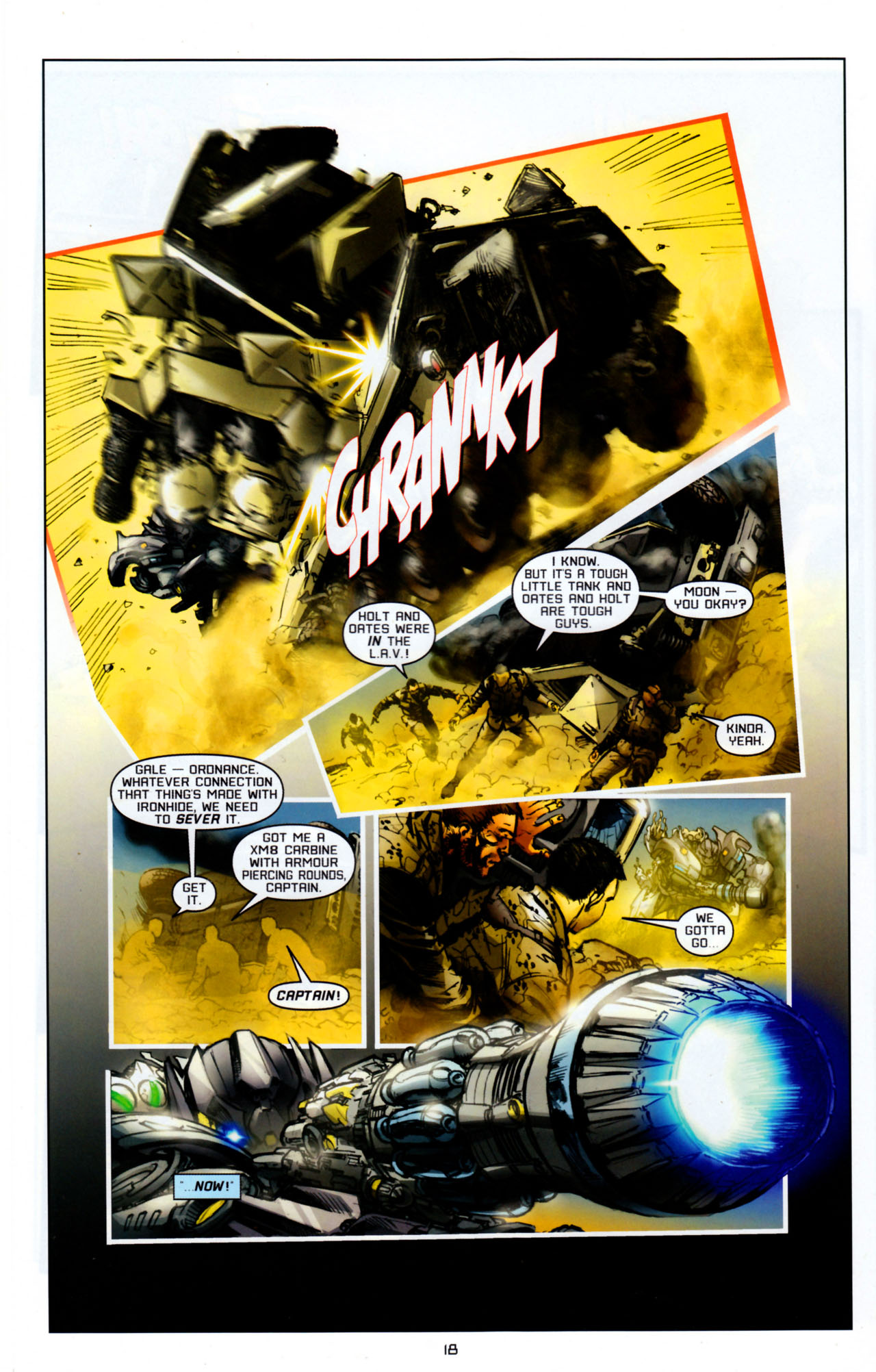 Read online Transformers: Saga of the Allspark comic -  Issue #4 - 21
