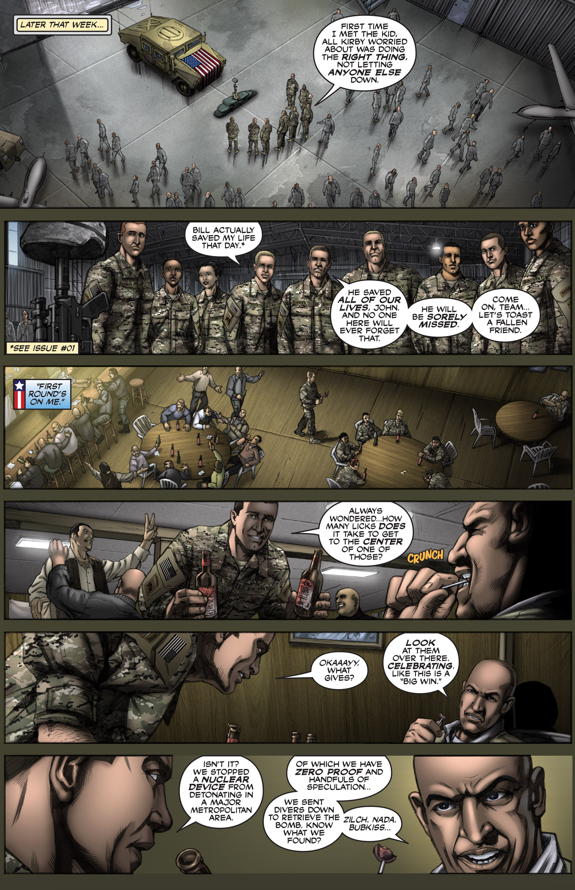 Read online America's Army comic -  Issue #12 - 26