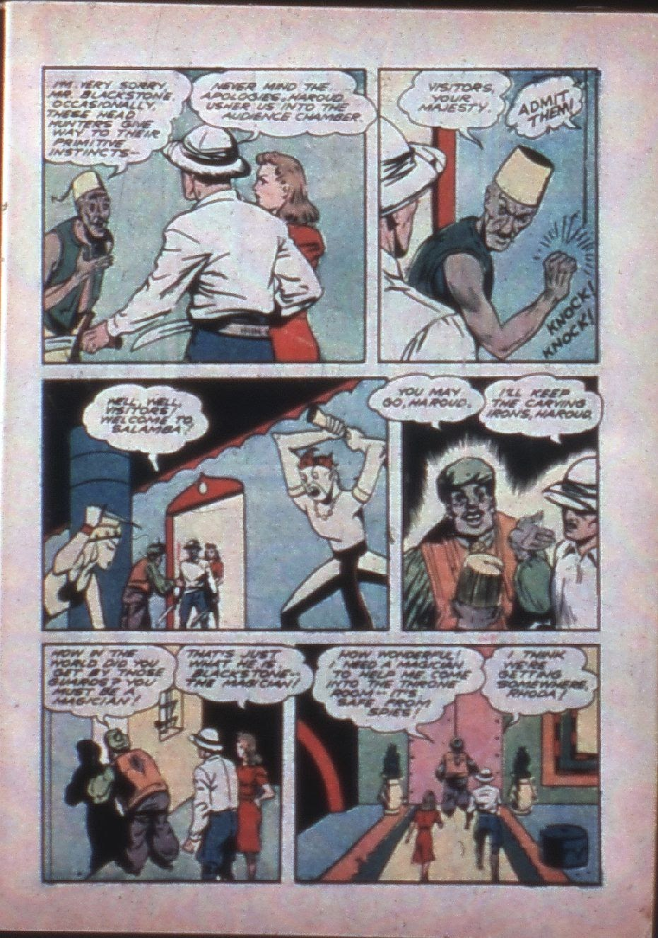Read online Super-Magician Comics comic -  Issue #7 - 7