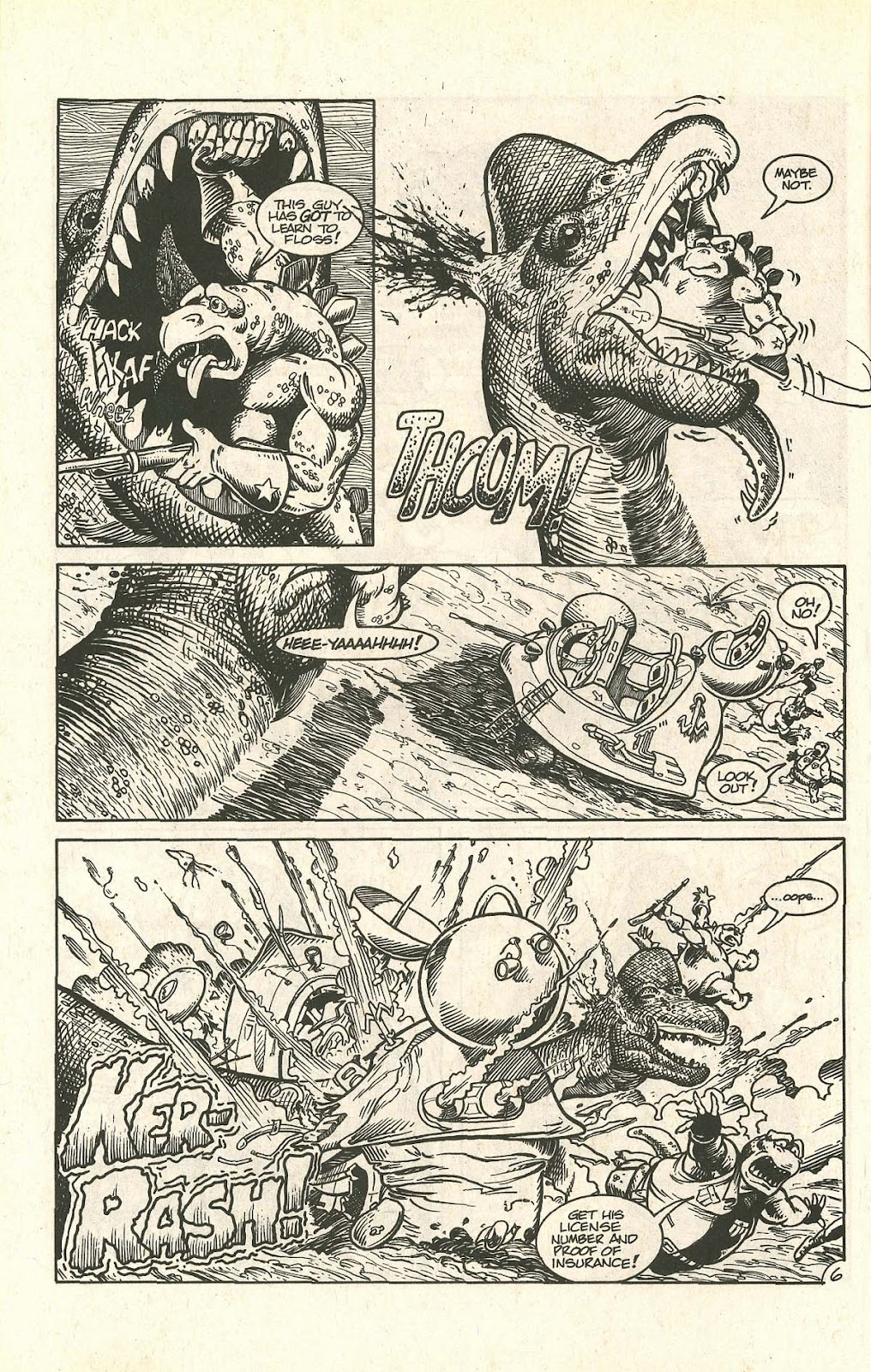 Dinosaurs For Hire (1988) issue 9 - Page 8