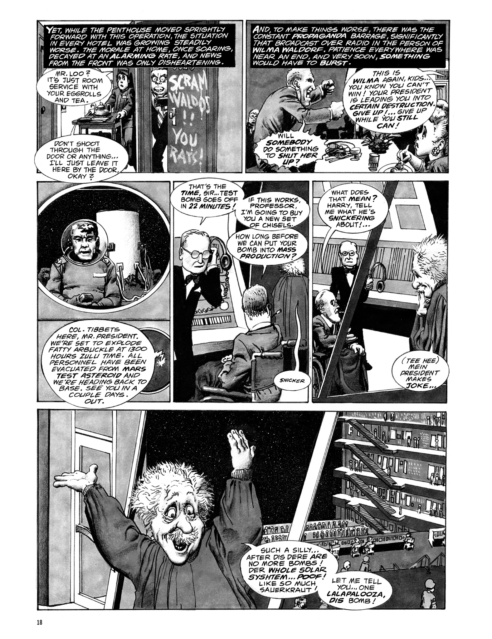 Read online Eerie Archives comic -  Issue # TPB 18 - 19