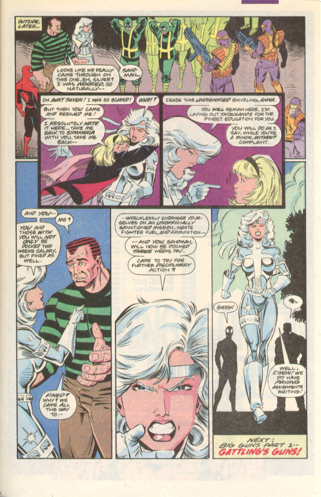 Read online Silver Sable and the Wild Pack comic -  Issue #1 - 24