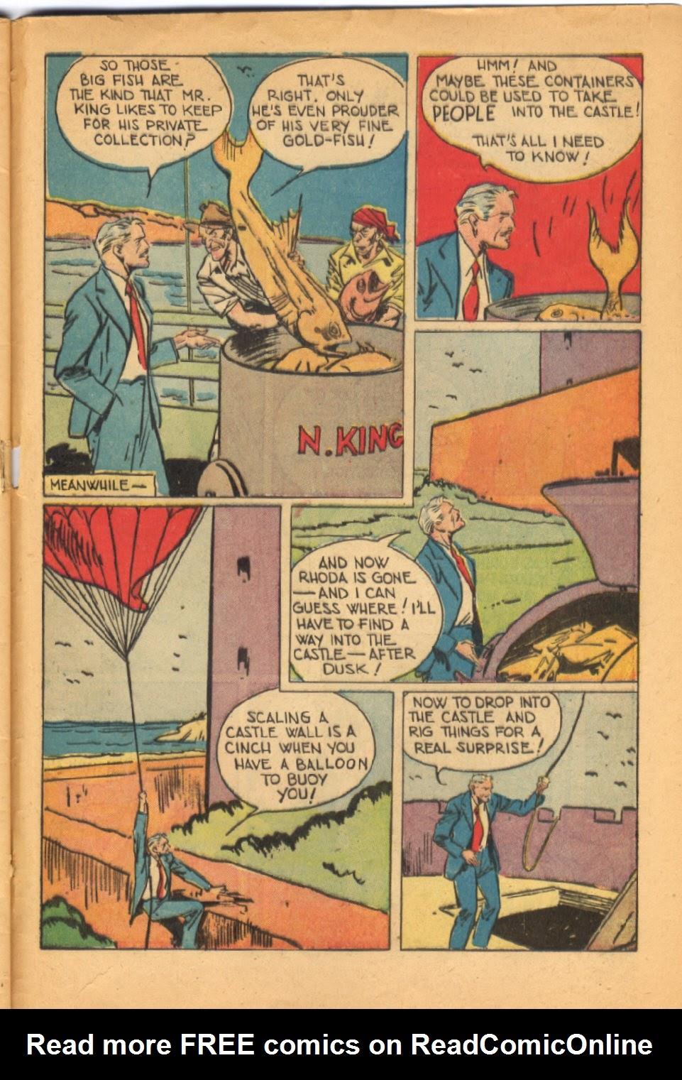 Read online Super-Magician Comics comic -  Issue #38 - 45