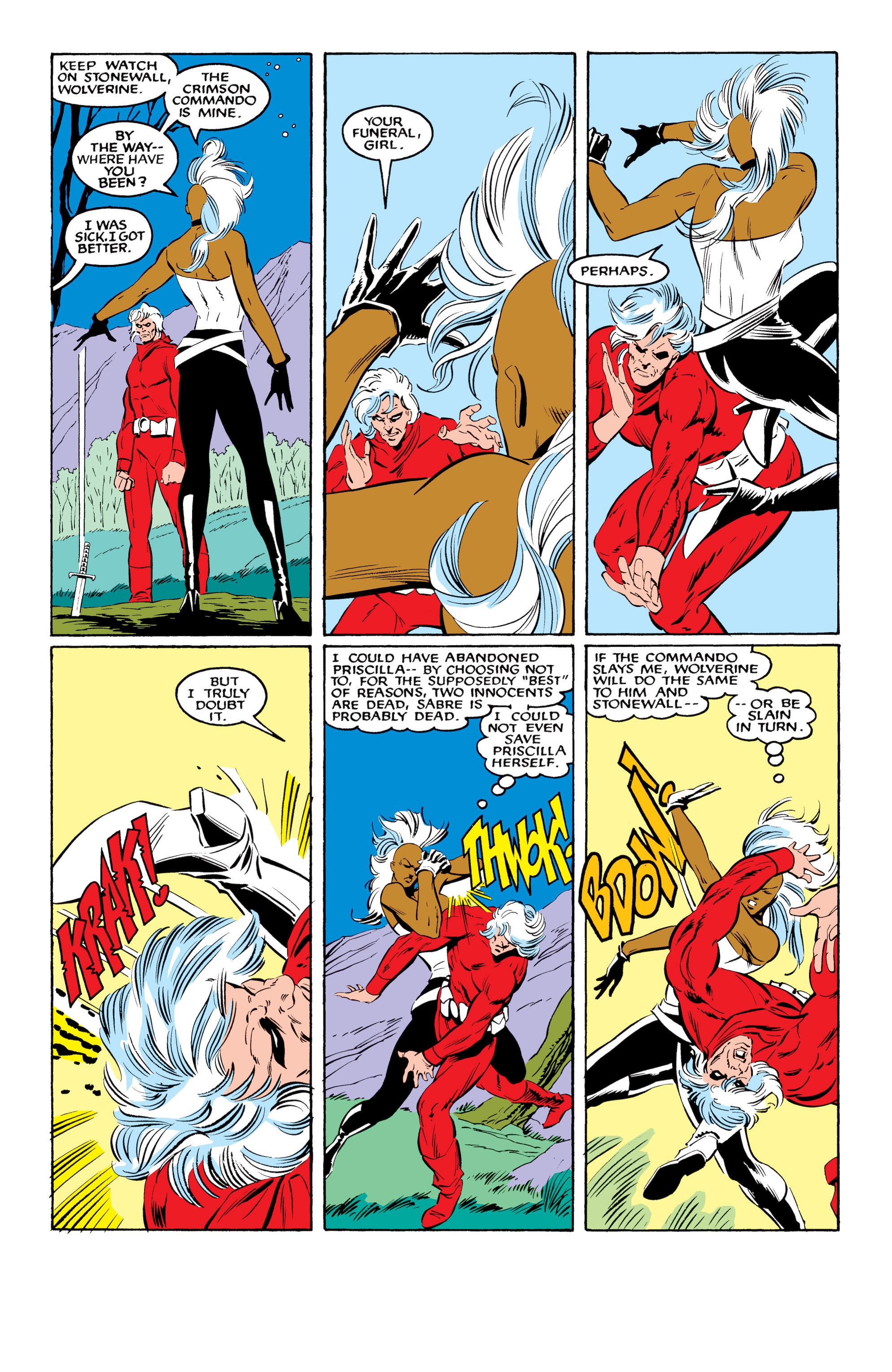 Read online Uncanny X-Men (1963) comic -  Issue #216 - 21