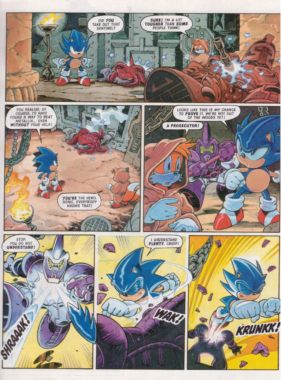 Read online Sonic the Comic comic -  Issue #111 - 6