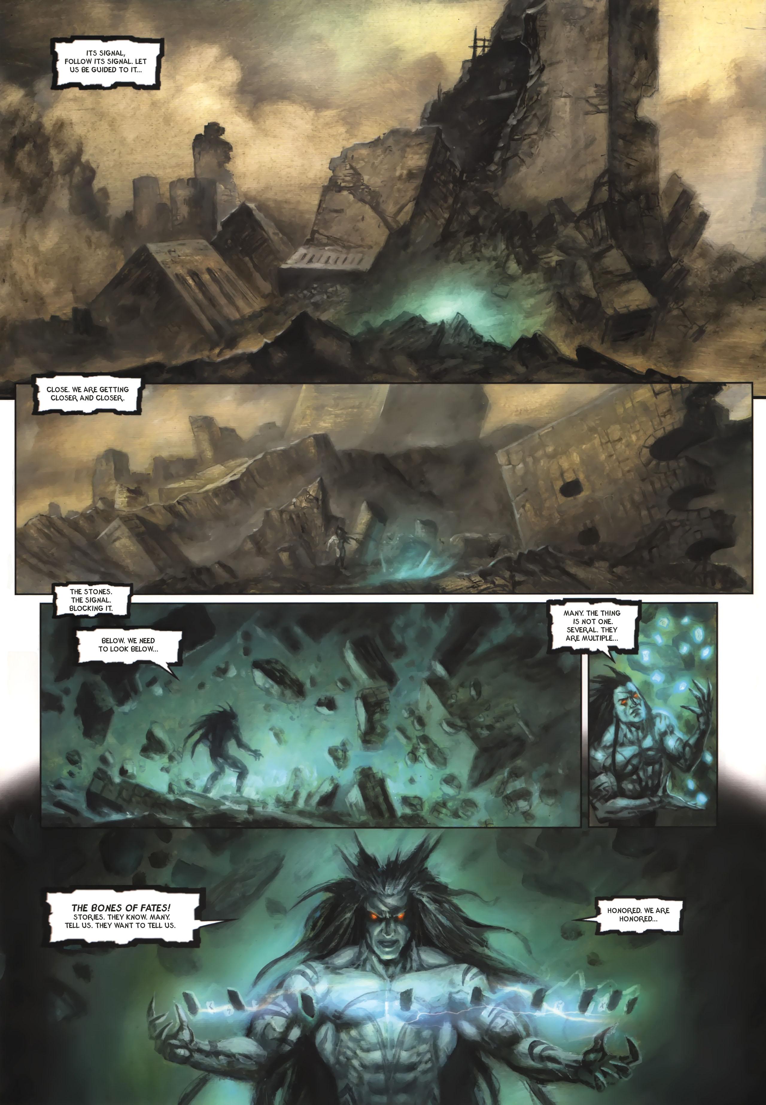Read online Arawn comic -  Issue #6 - 7