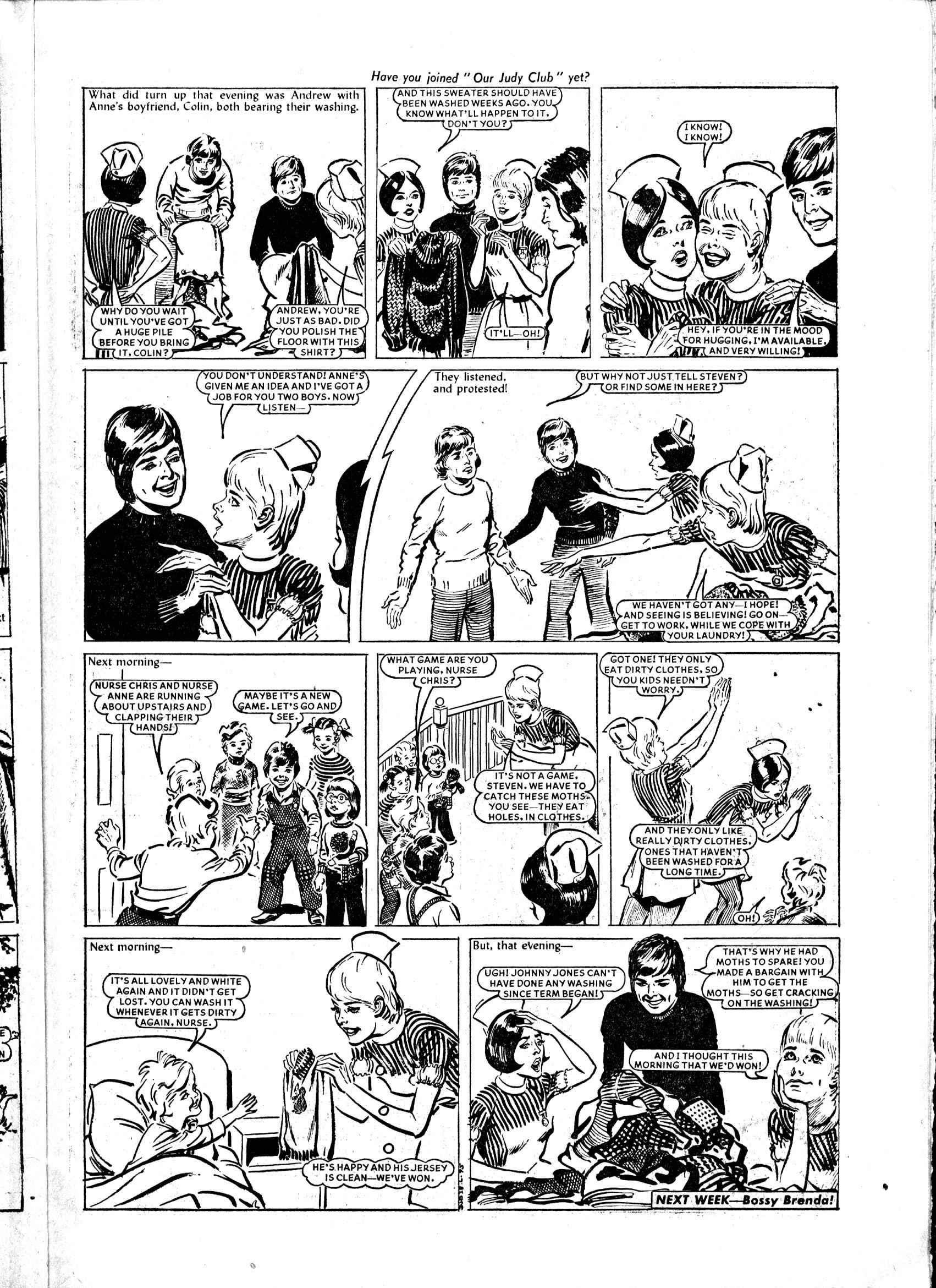 Read online Judy comic -  Issue #807 - 11