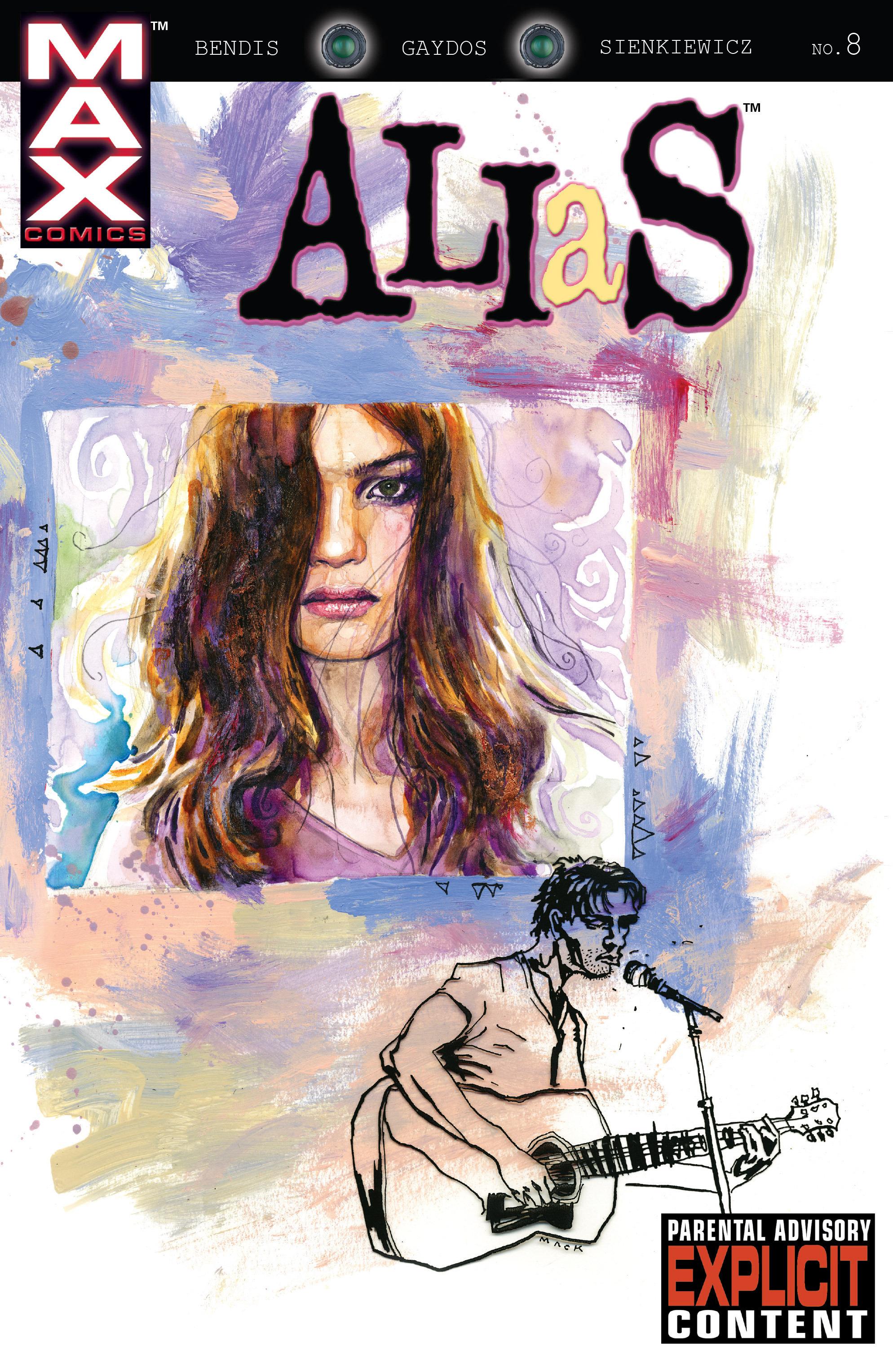 Read online Alias comic -  Issue #8 - 1