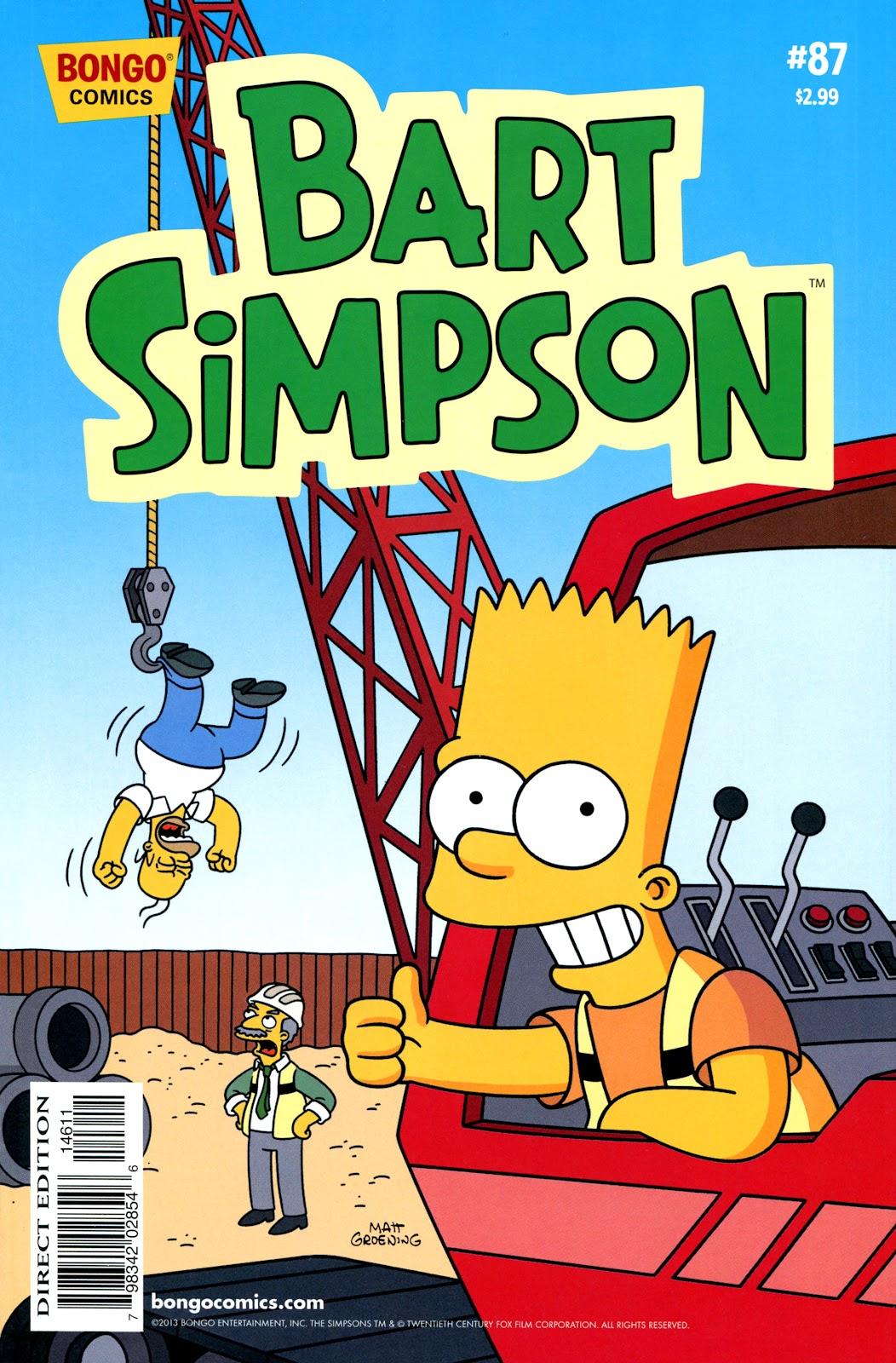 Simpsons Comics Presents Bart Simpson 87 Page 1
