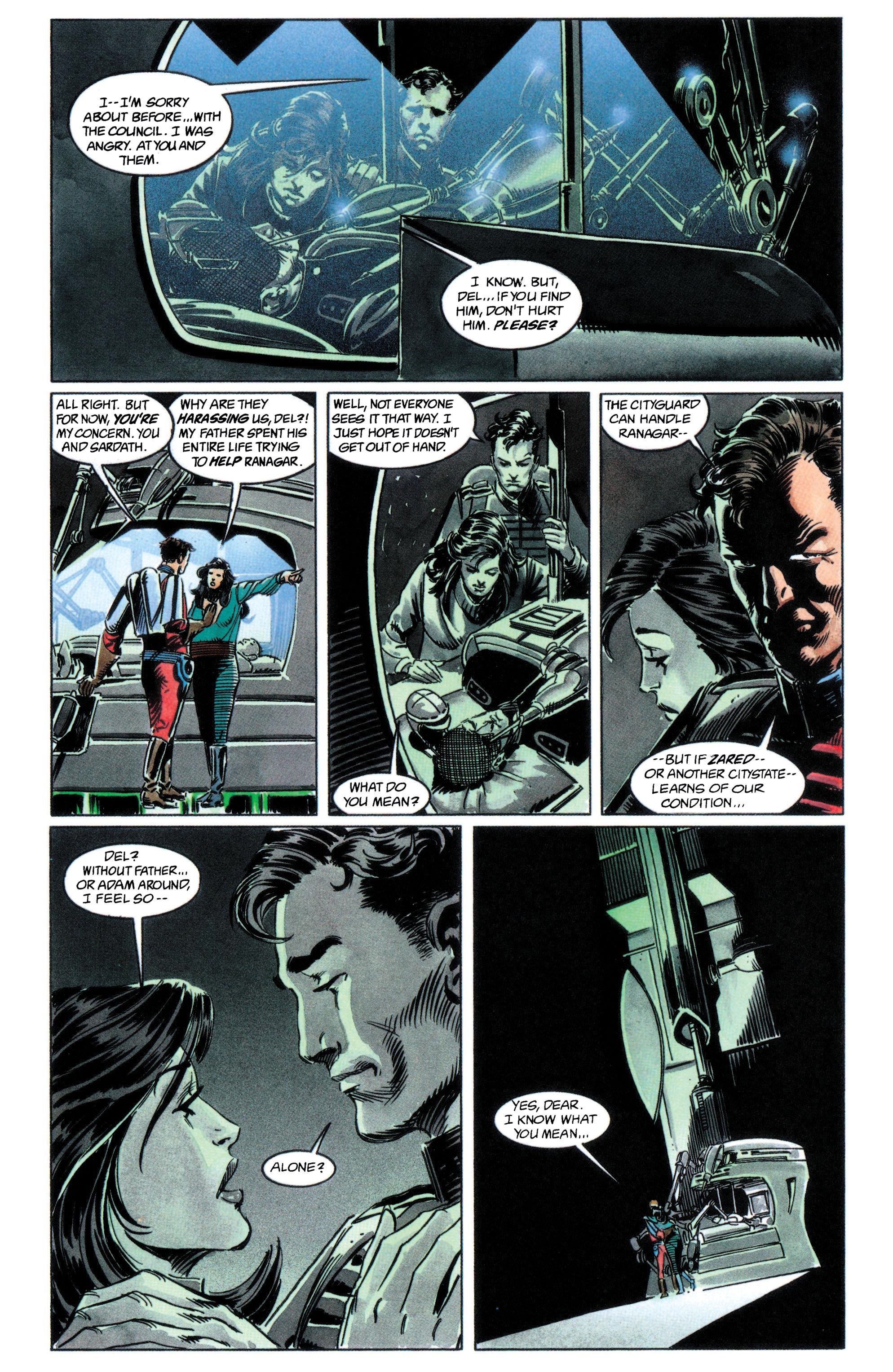 Read online Adam Strange (1990) comic -  Issue #2 - 18