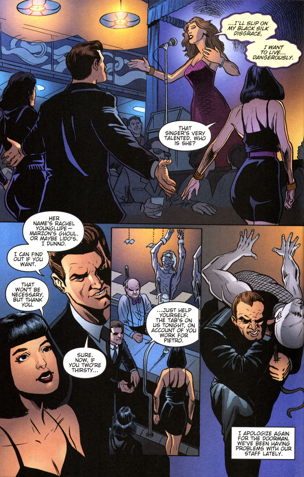 Read online Vampire the Masquerade comic -  Issue # Giovanni - 22