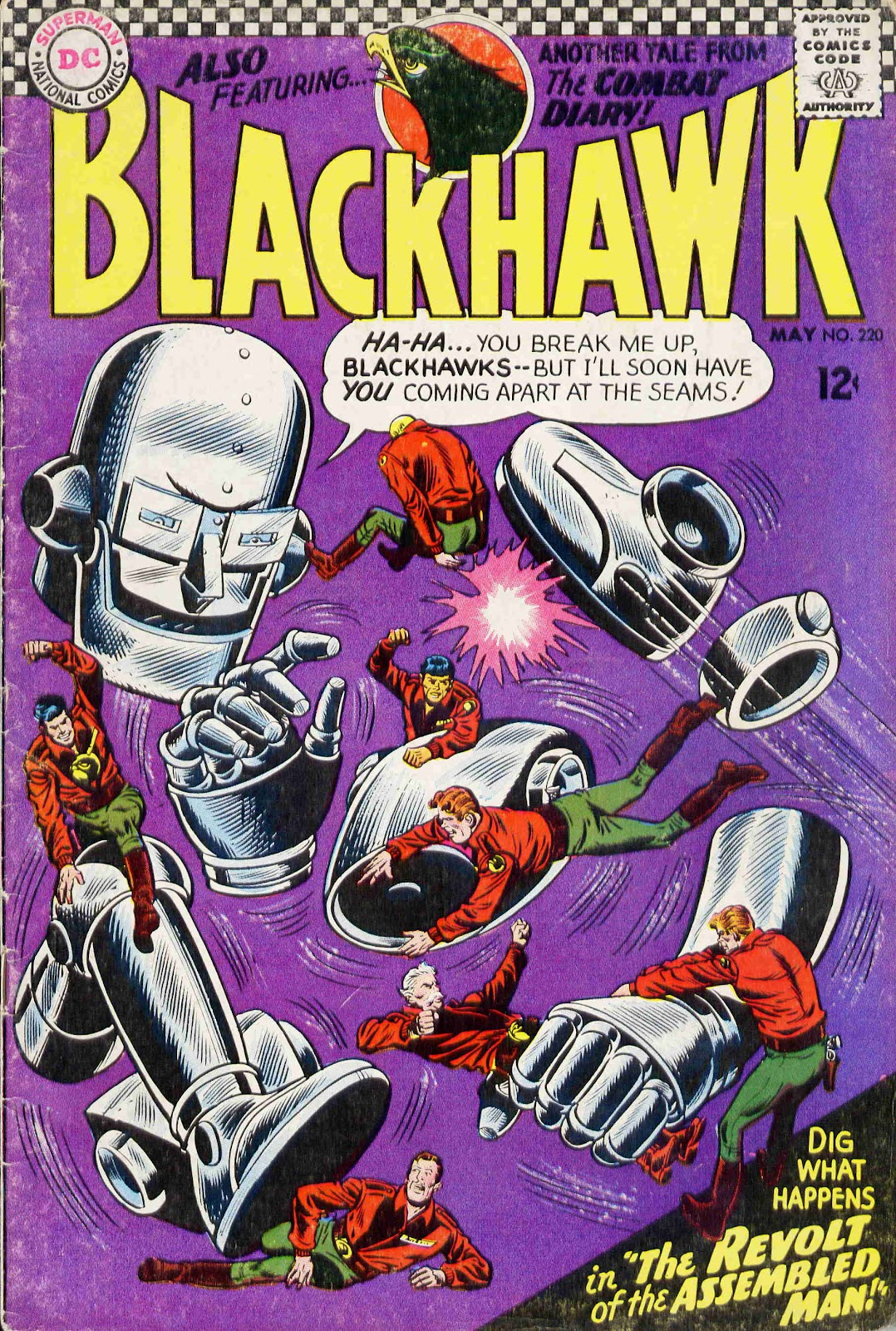 Blackhawk (1957) 220 Page 1