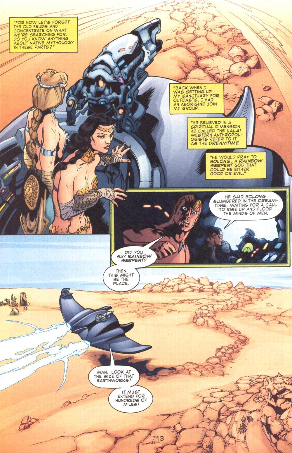 Read online Aquaman (2003) comic -  Issue #9 - 15