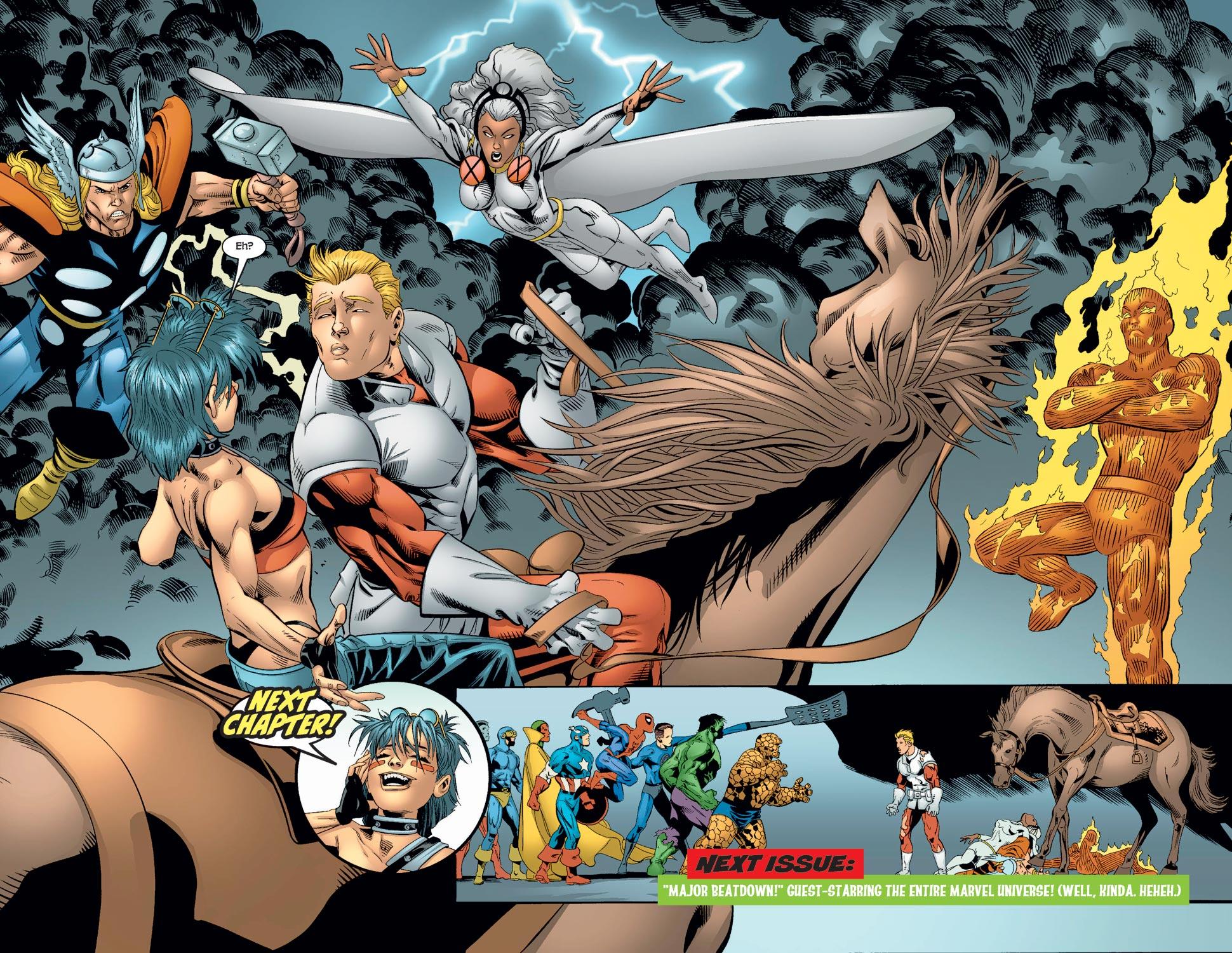 Read online Alpha Flight (2004) comic -  Issue #7 - 20